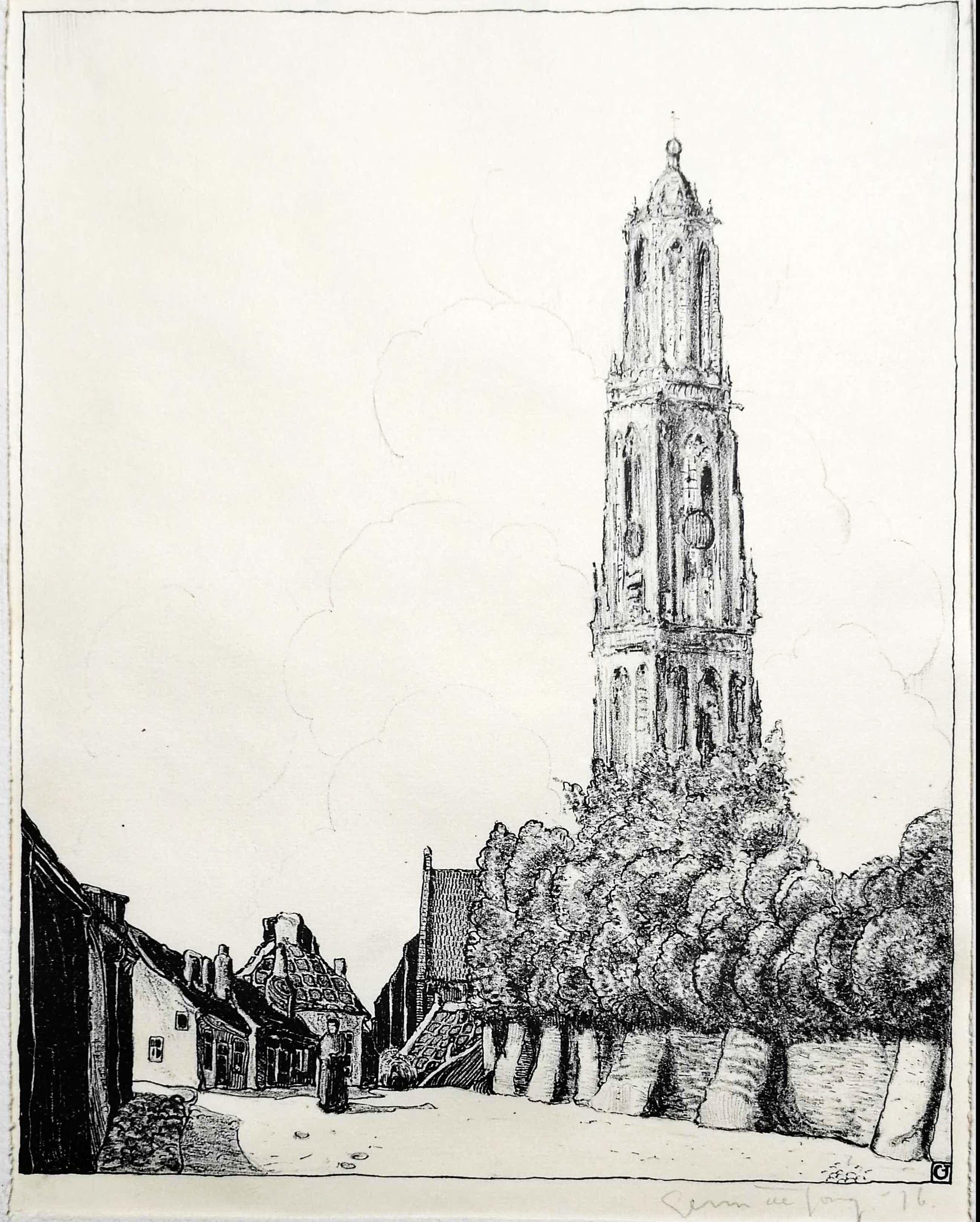 Germ de Jong - Cunera toren te Rhenen kopen? Bied vanaf 55!