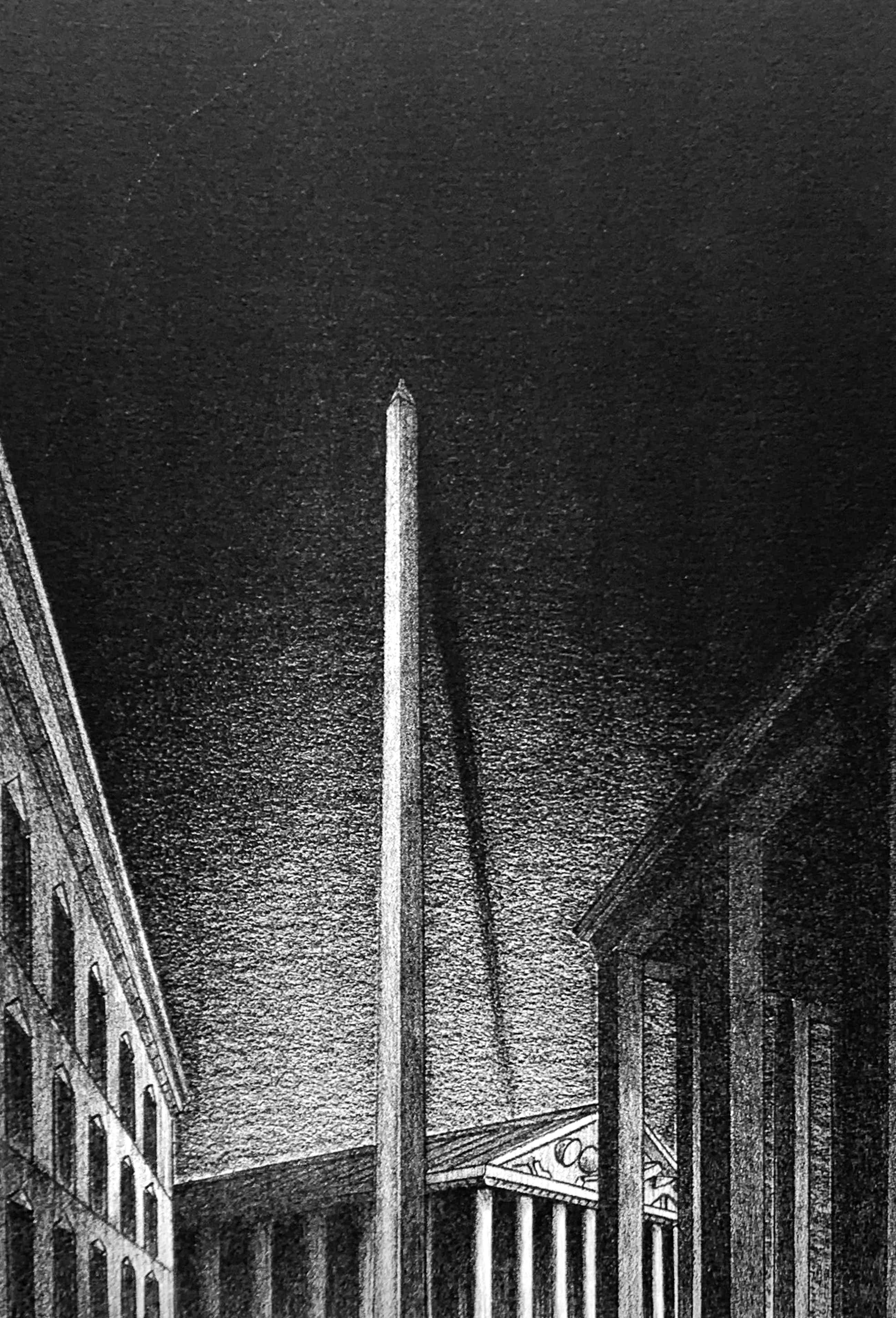 Jeroen Henneman - lithografie - 'Eerste blik op de stad' - 1982 kopen? Bied vanaf 60!