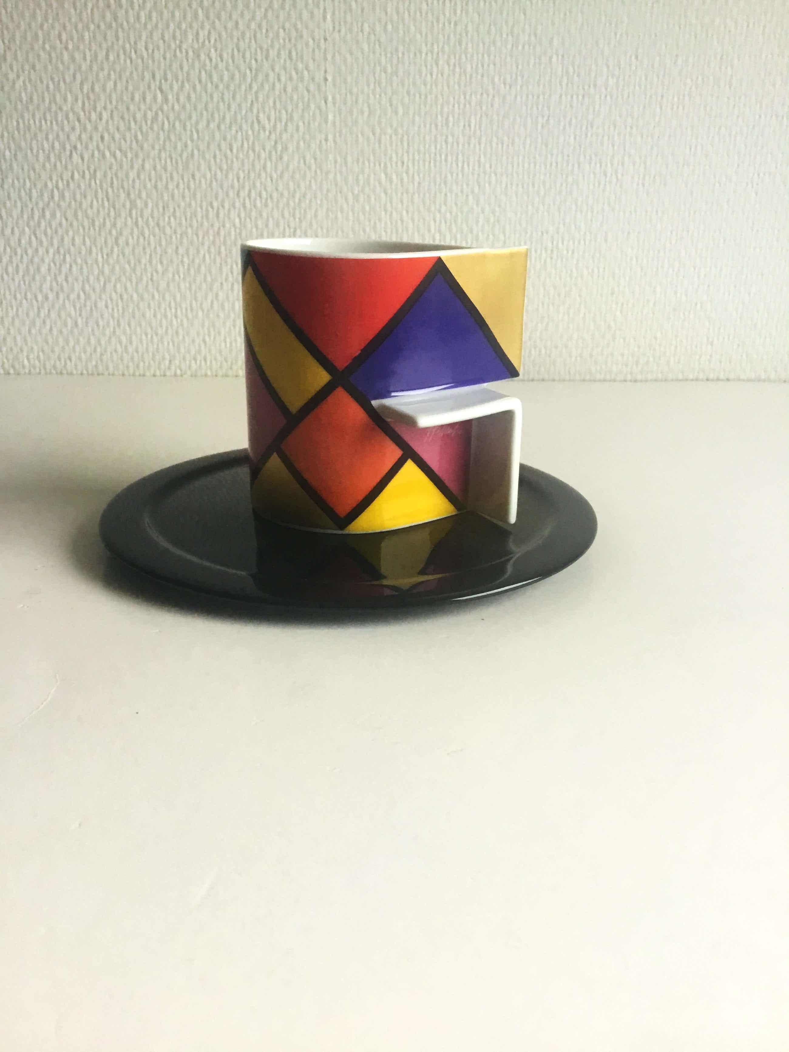 Jan van der Vaart - Rosenthal Studio Line Künstlertasse nummer 26, porselein koffiekop kopen? Bied vanaf 25!