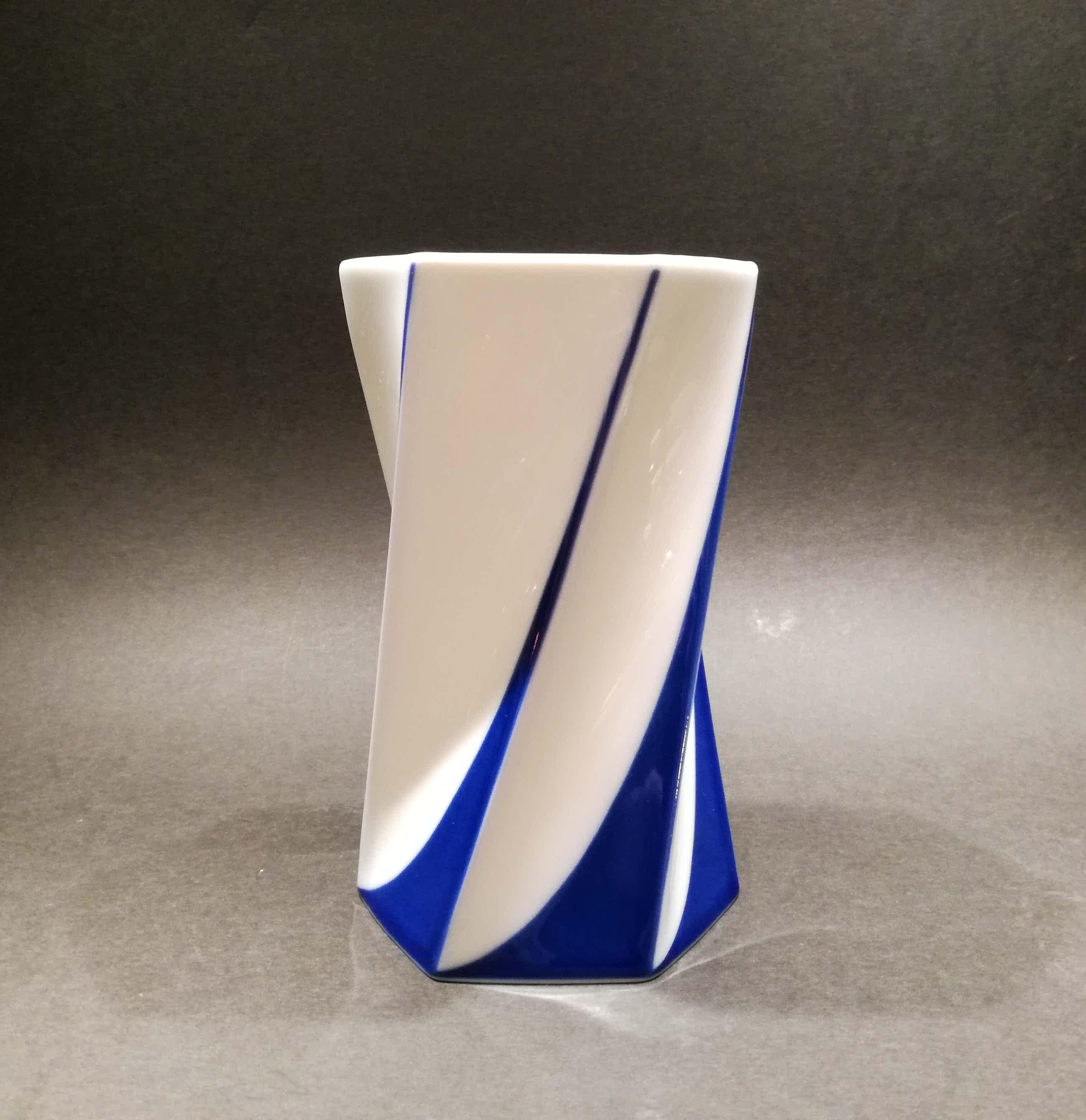 Jan van der Vaart - zeshoekige cilindervormige vaas kopen? Bied vanaf 49!