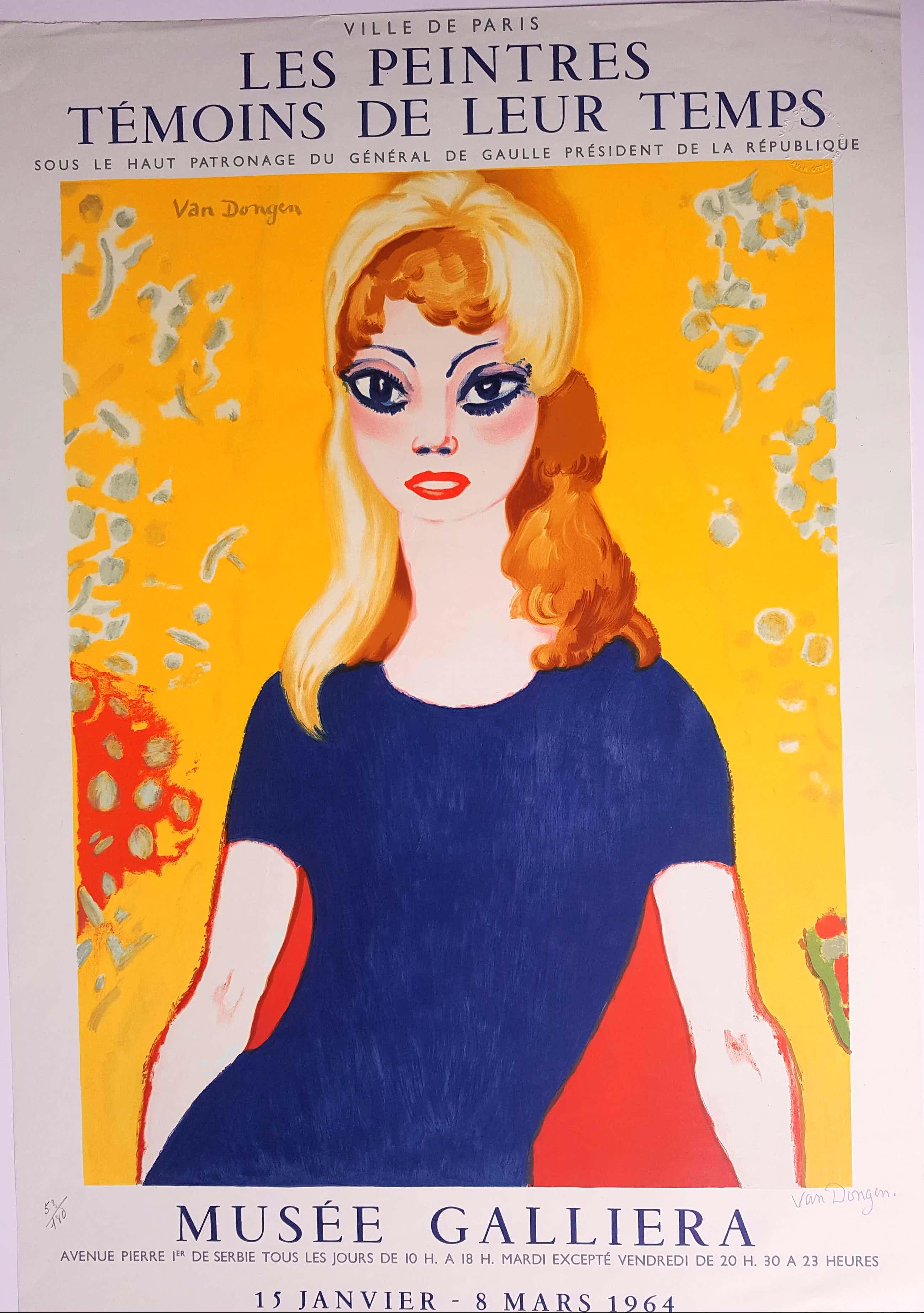 Kees van Dongen - Kees van Dongen 'Brigitte Bardot' kopen? Bied vanaf 440!
