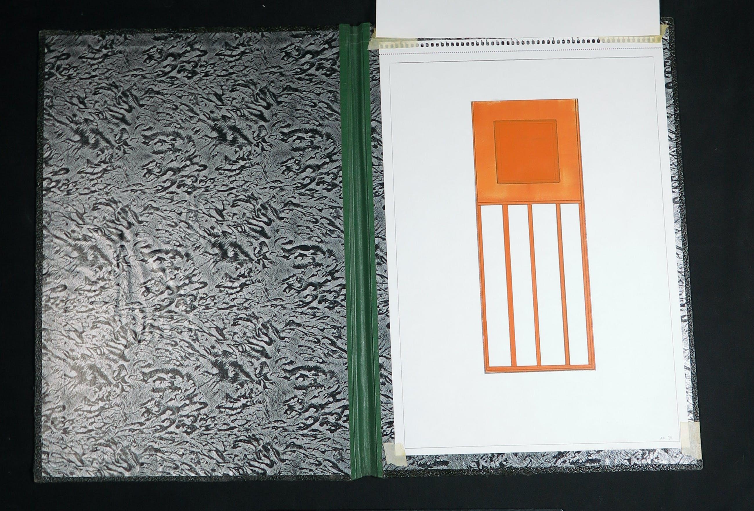 Ruud Bloemheuvel - Tekening met gouache en potlood op papier, Zonder titel kopen? Bied vanaf 1!