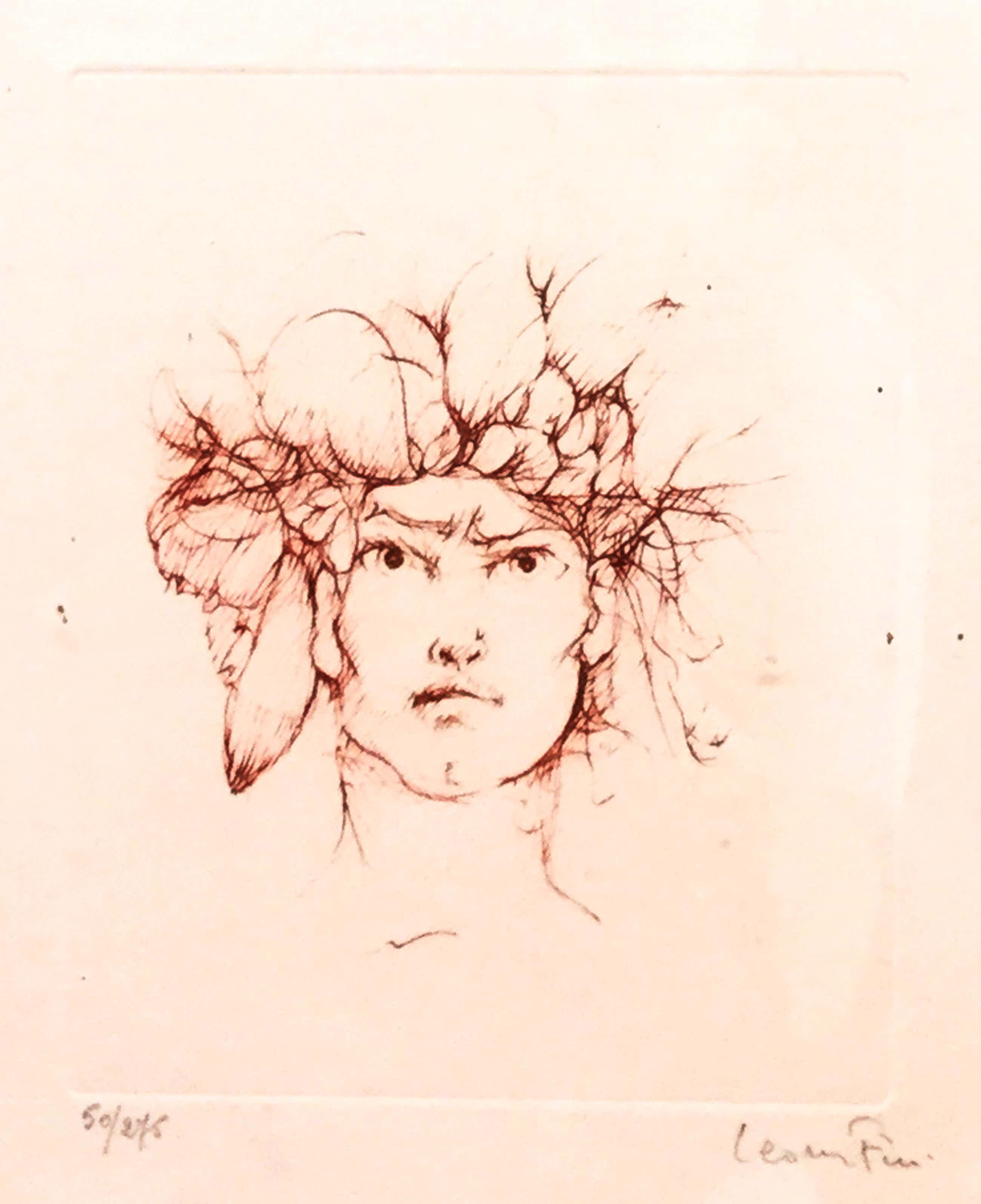 Leonor Fini - C3461-2, Portret kopen? Bied vanaf 150!