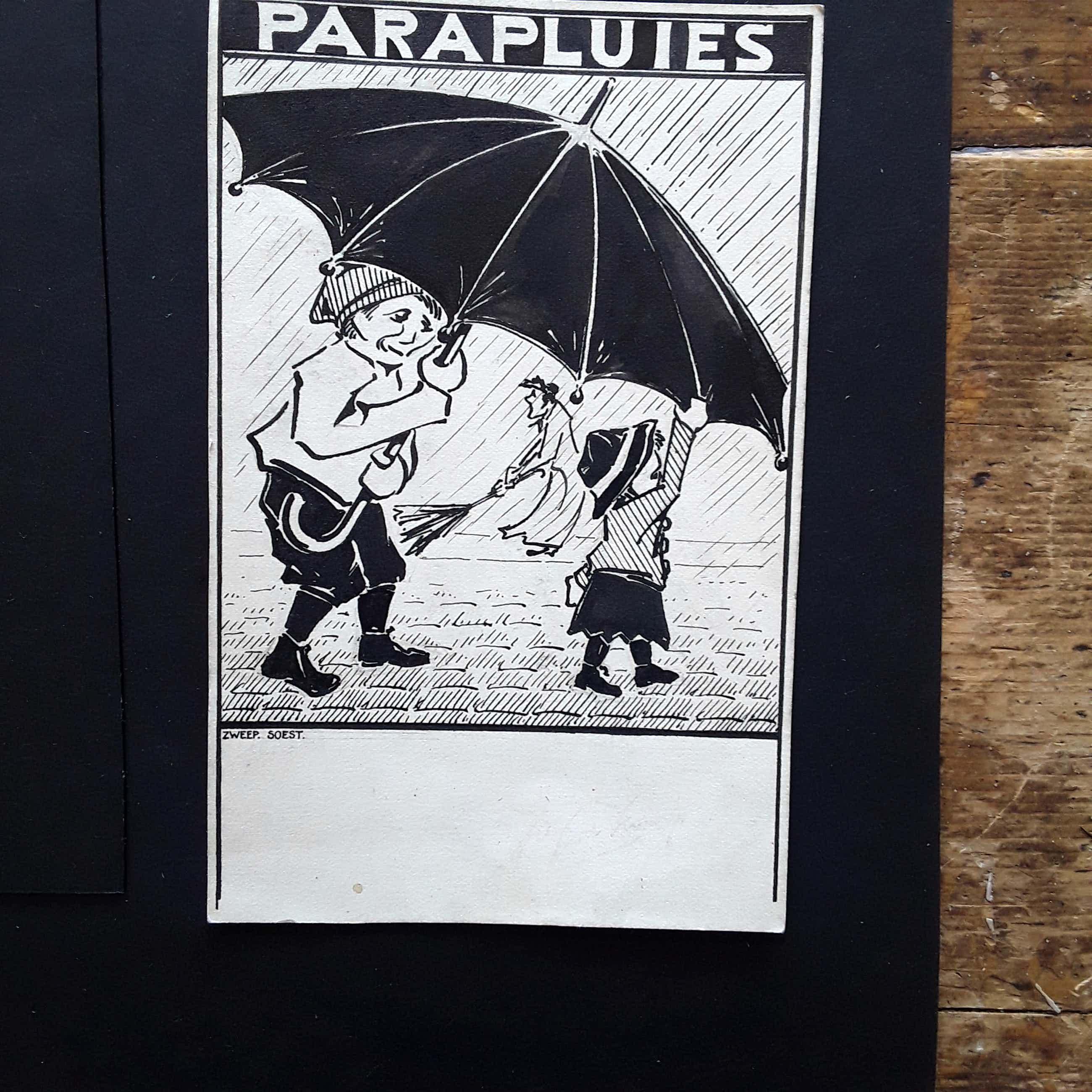 Douwe Jan van der Zweep - Parapluies kopen? Bied vanaf 20!