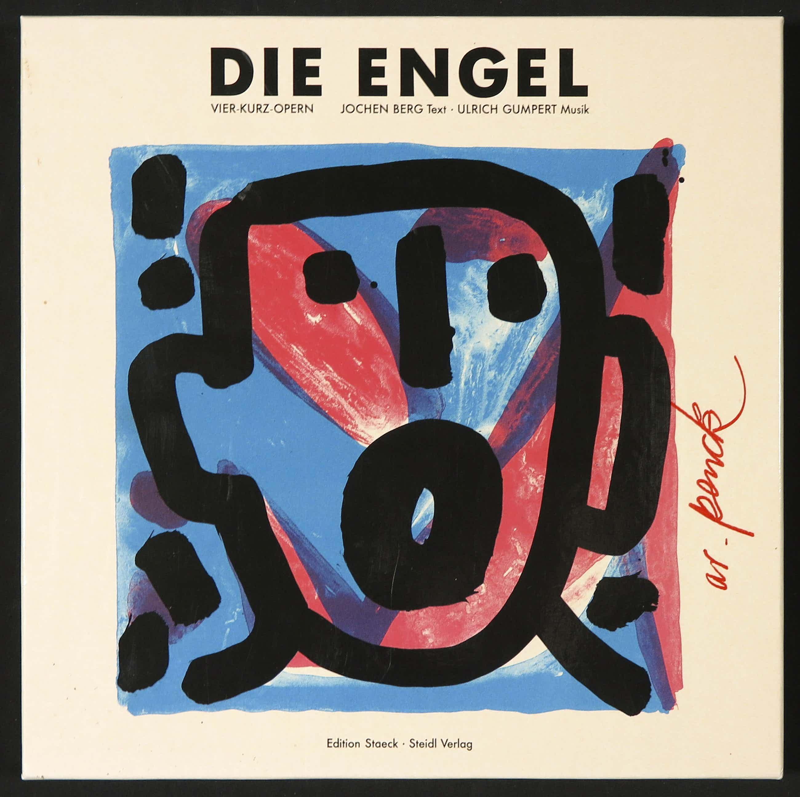 A.R. Penck - Ulrich Gumpert - Jochen Berg: 2CD Box - Gesigneerd: Die Engel kopen? Bied vanaf 85!