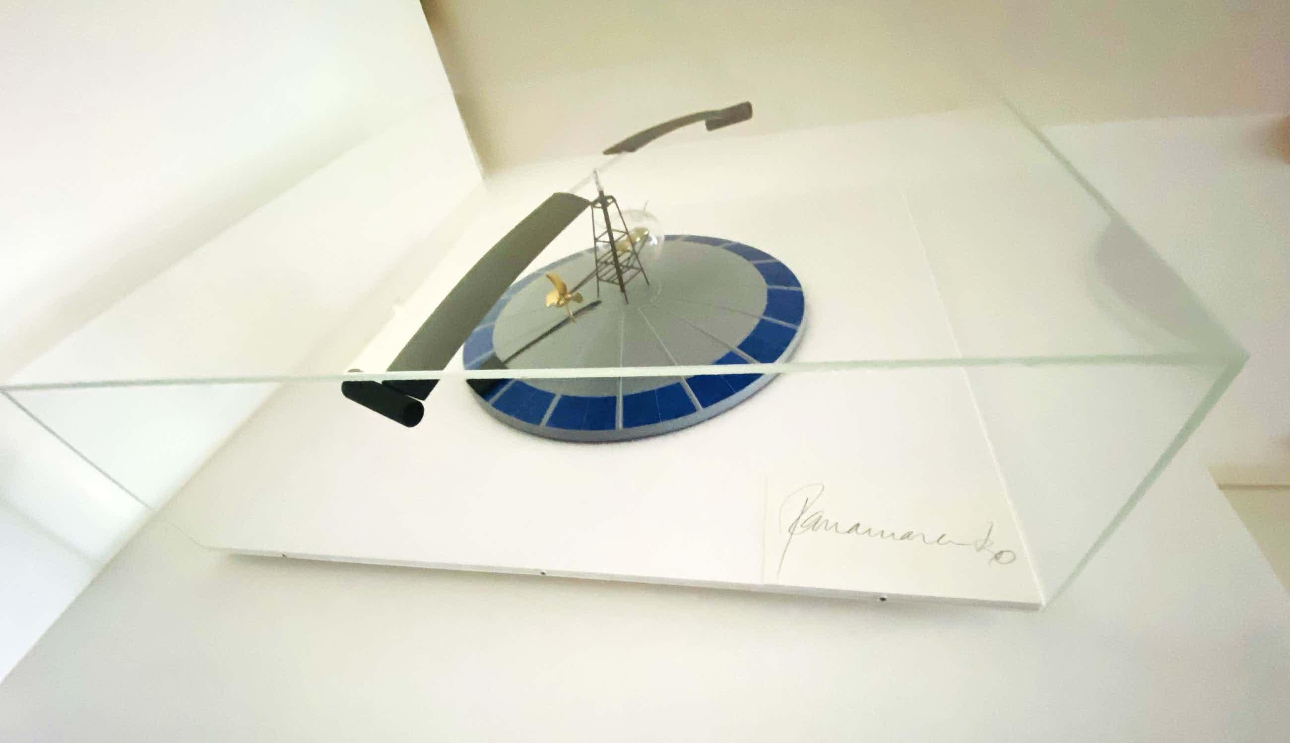 Panamarenko - werkend 3 d object vliegend eiland kopen? Bied vanaf 3600!