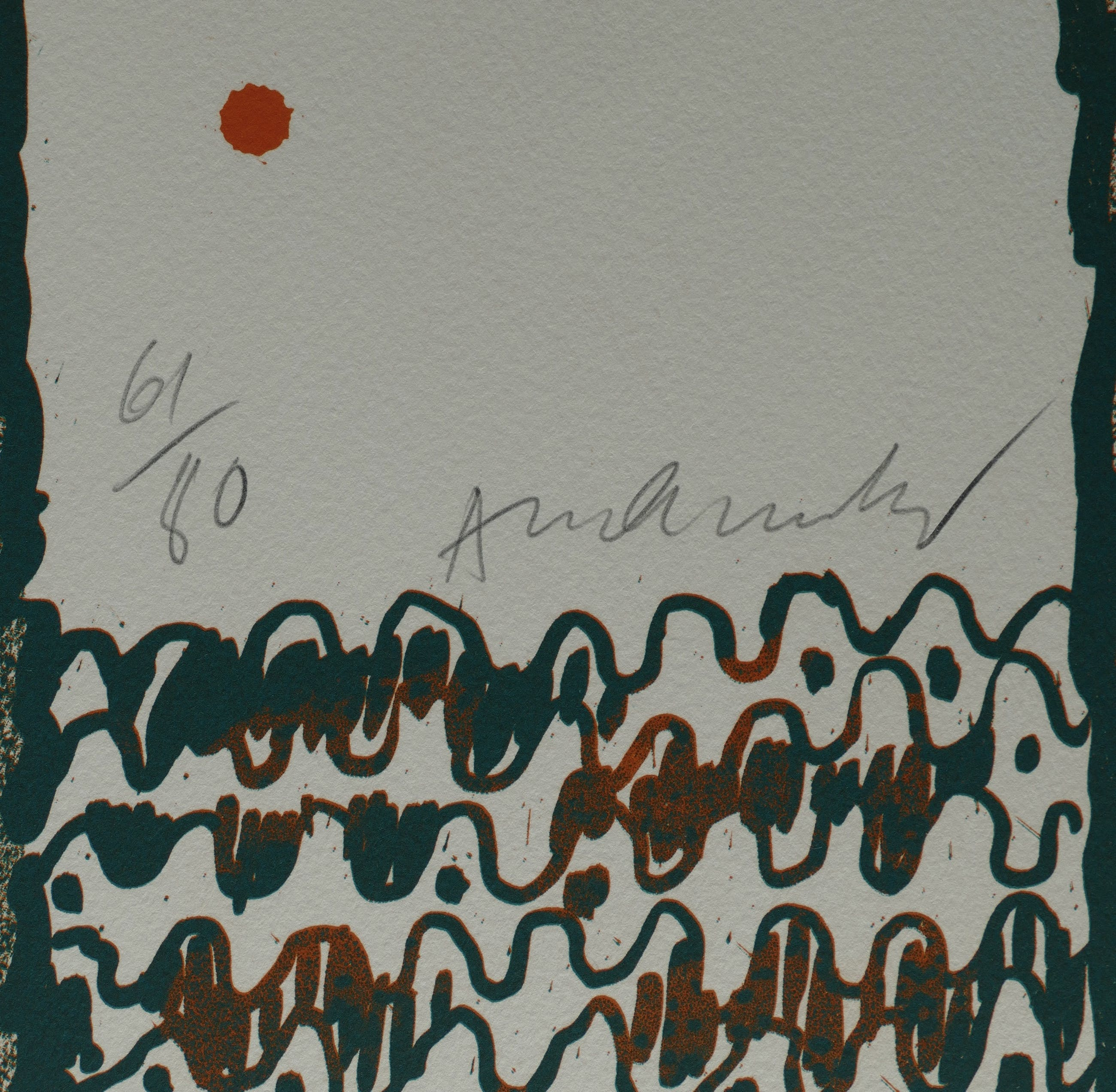 Pierre Alechinsky - handsignierte Lithographie kopen? Bied vanaf 750!