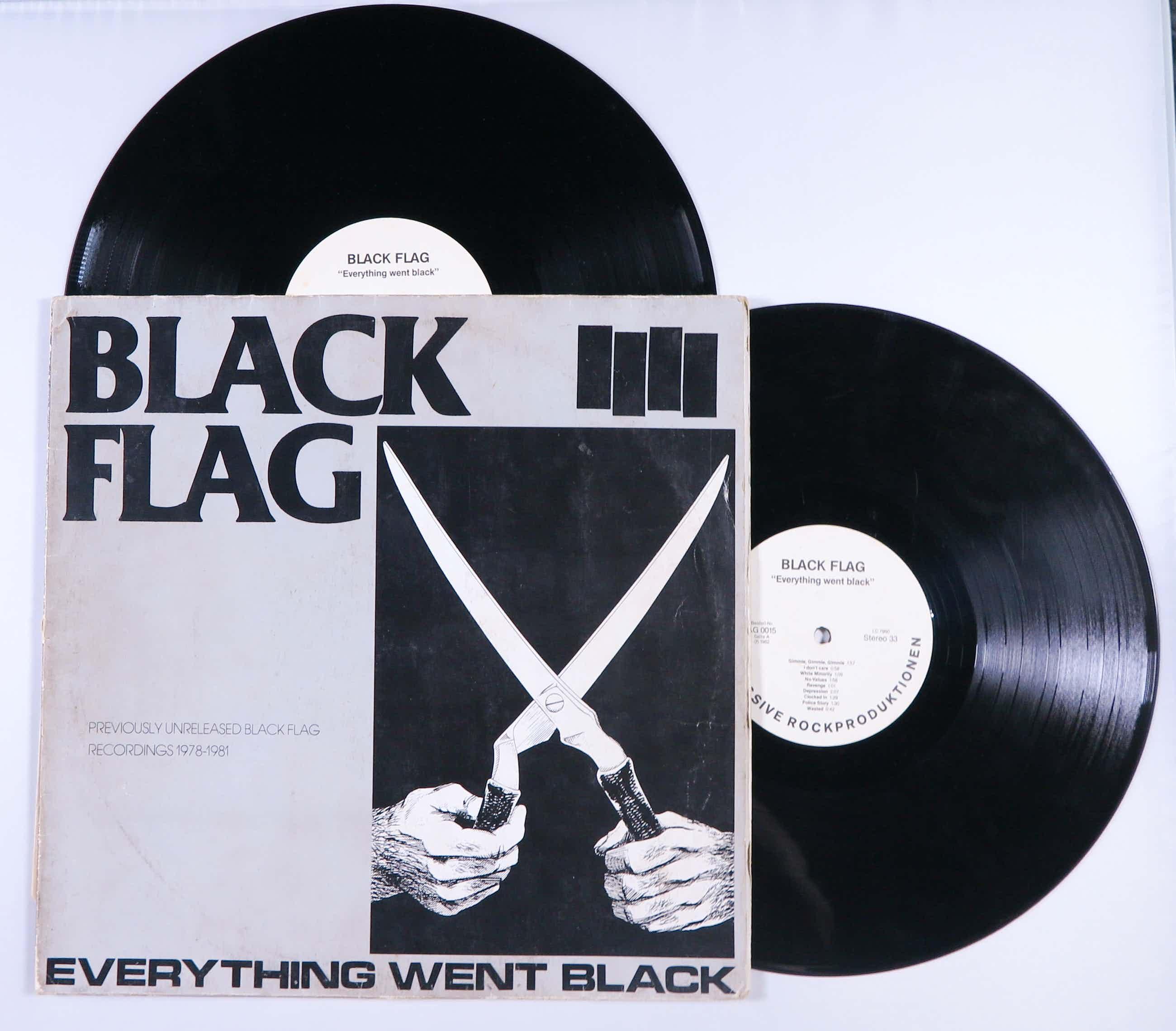 Black Flag - 2LP - Everything went black kopen? Bied vanaf 15!