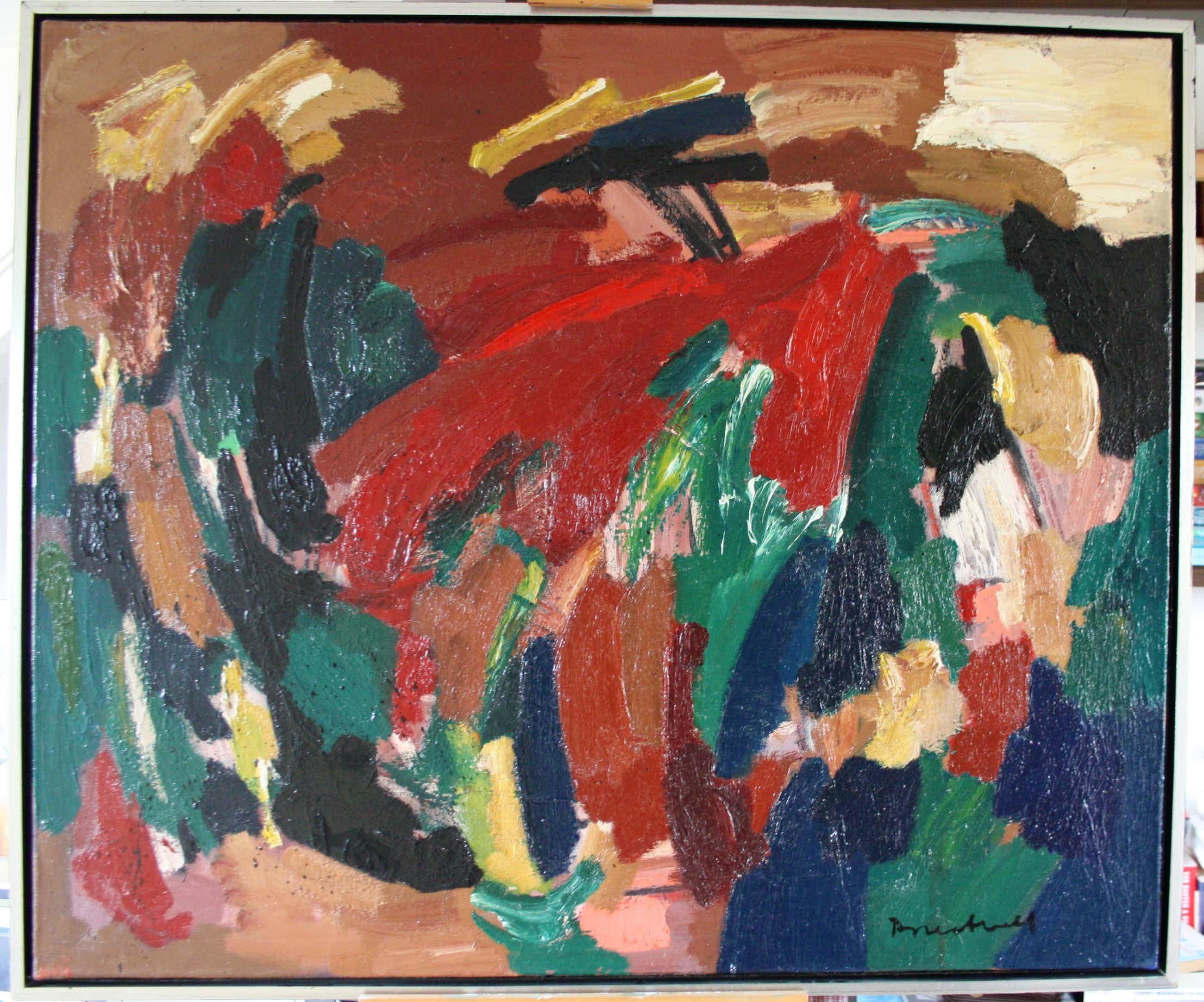 Dolf Breetvelt - Abstracte Compositie kopen? Bied vanaf 1900!