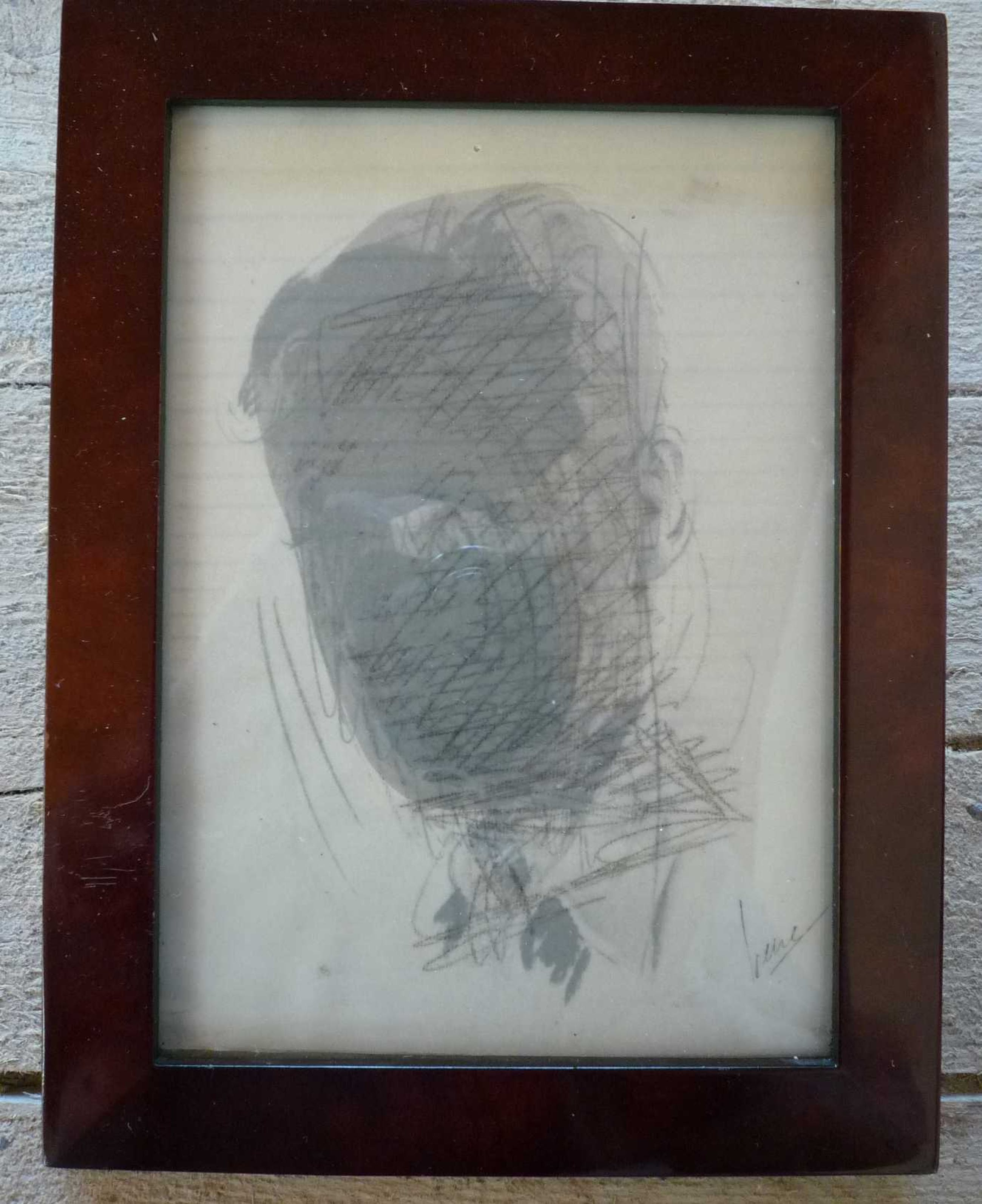 Irene van den Bos - A man's head. kopen? Bied vanaf 15!