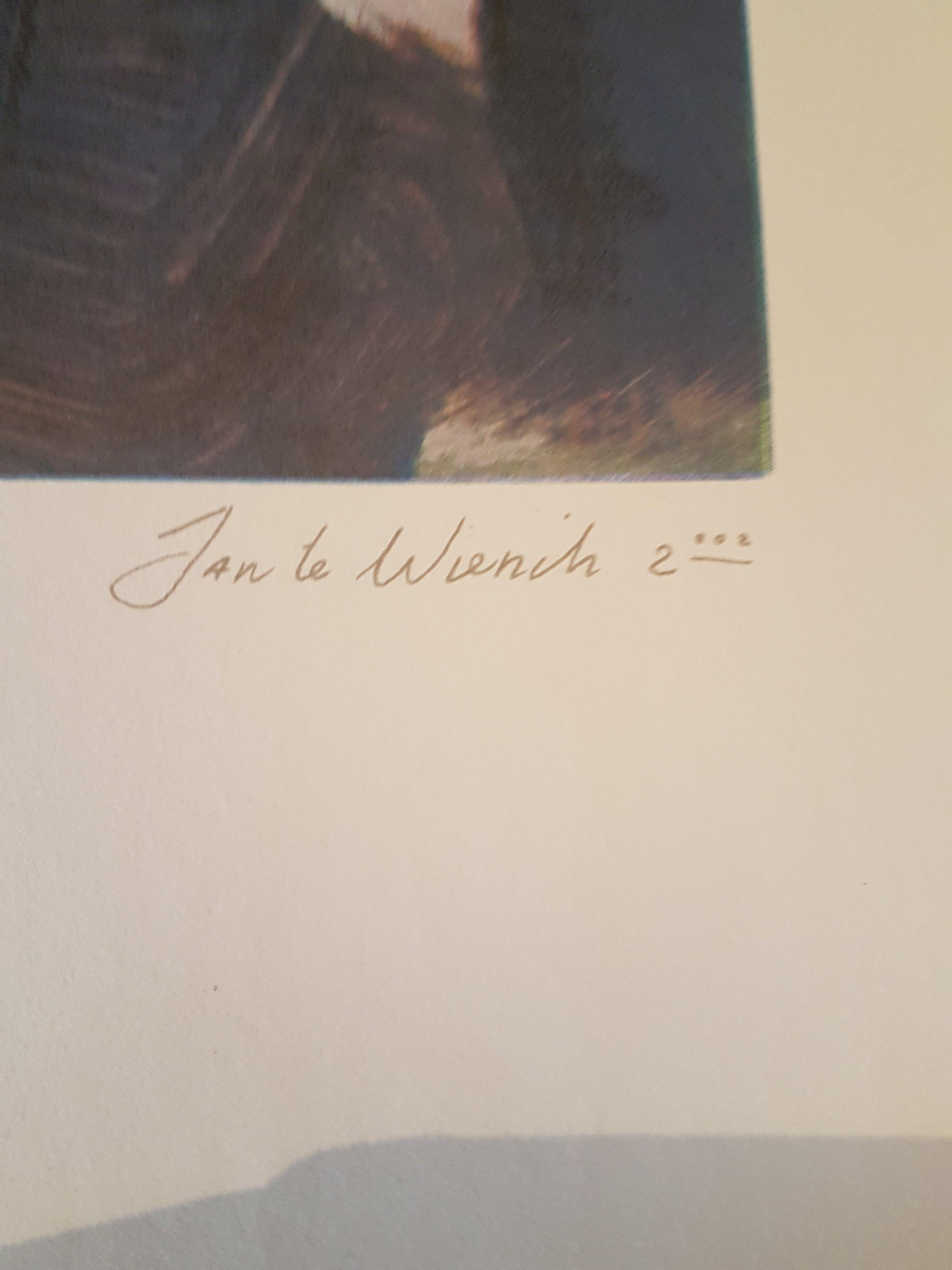 Jan te Wierik - Gezicht kopen? Bied vanaf 80!