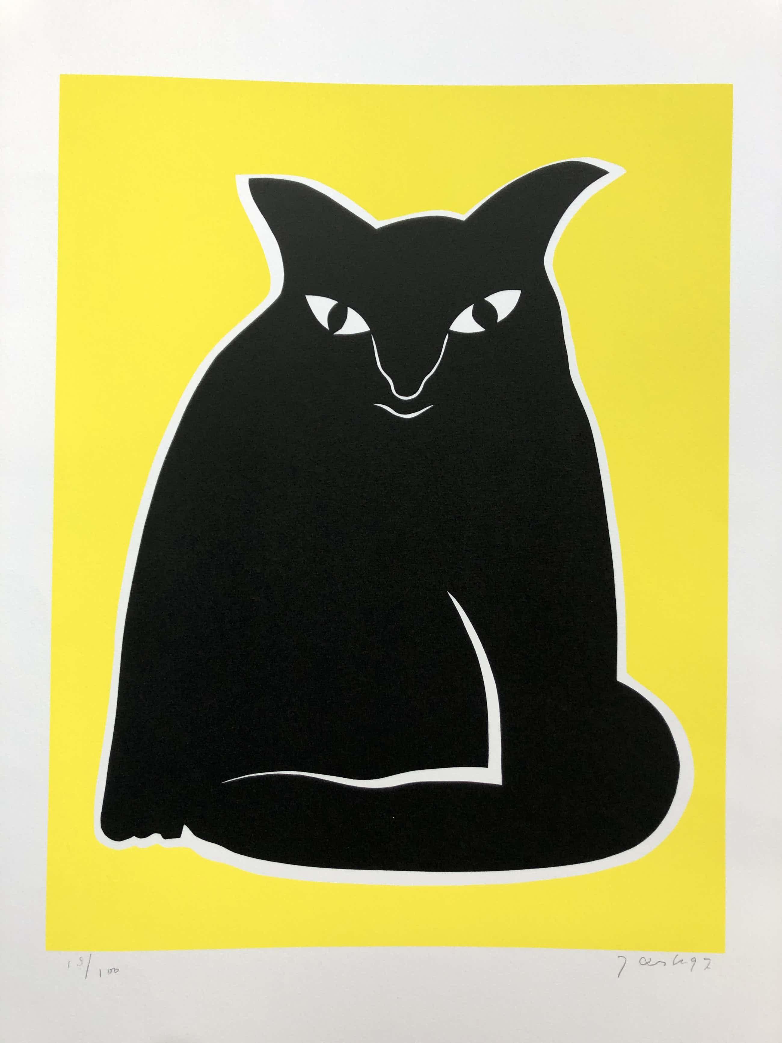 Jan Snoeck - zwarte kat kopen? Bied vanaf 56!