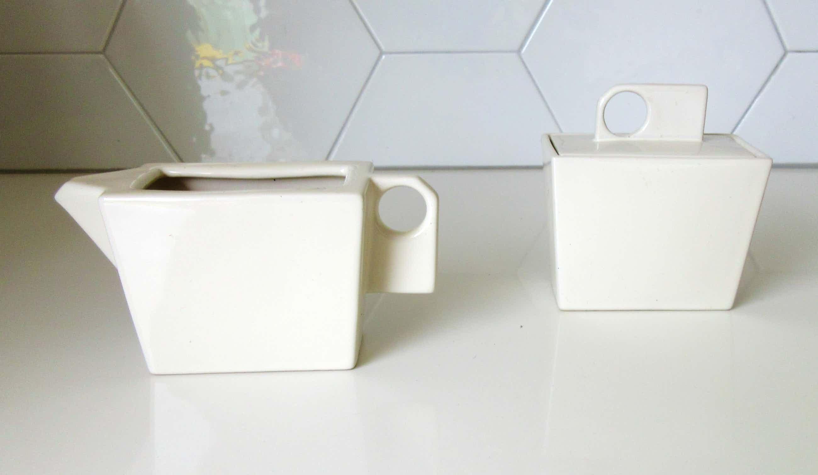 Royal Boch - Suikerpot & creamer servies Zeosen ontwerp Marc Pairon kopen? Bied vanaf 25!