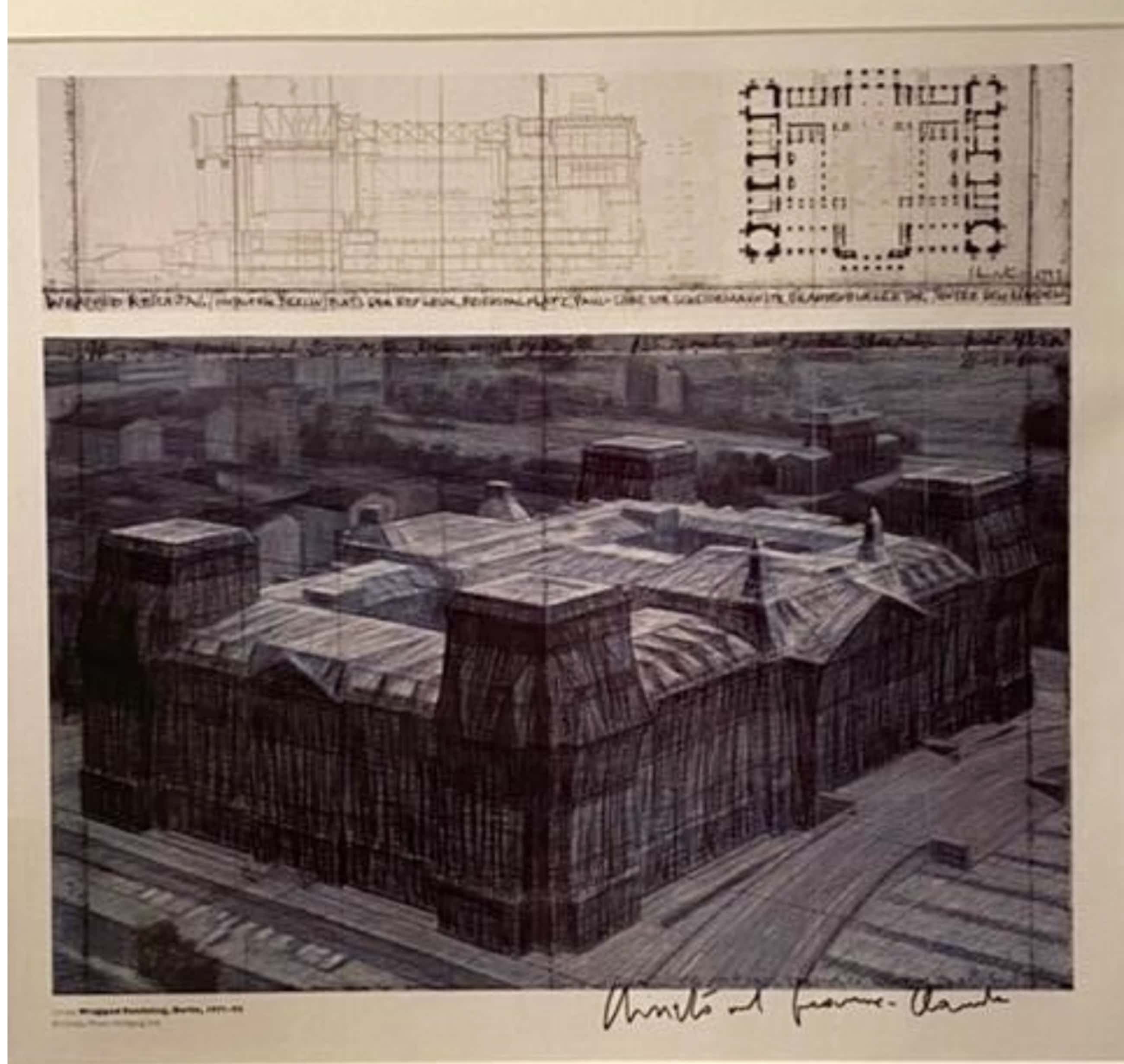 Christo - Wrapped Reichstag kopen? Bied vanaf 120!