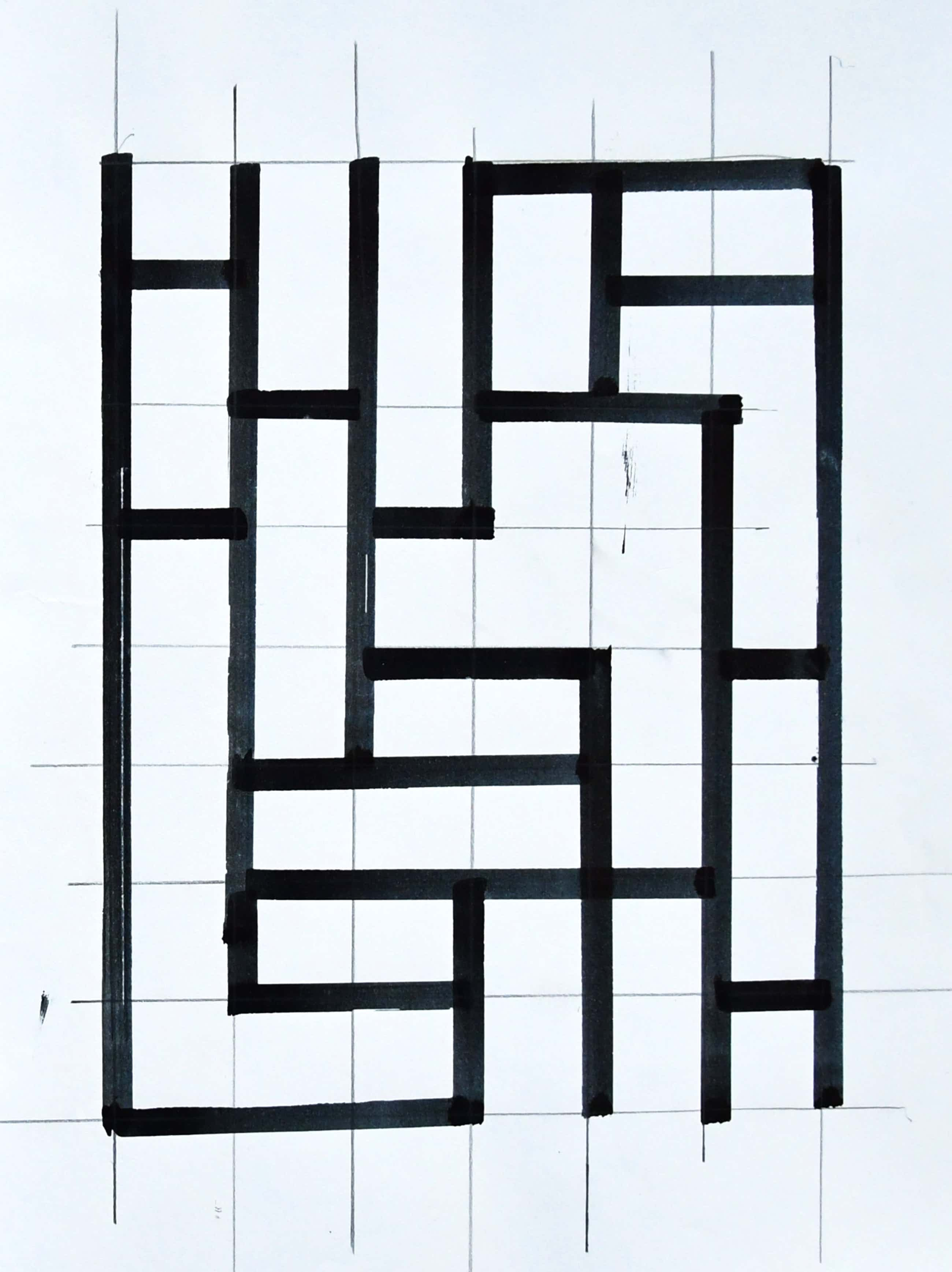 Siep van den Berg - #CONSTRUCTIVISTISCHE Compositie # 1992, mint kopen? Bied vanaf 39!