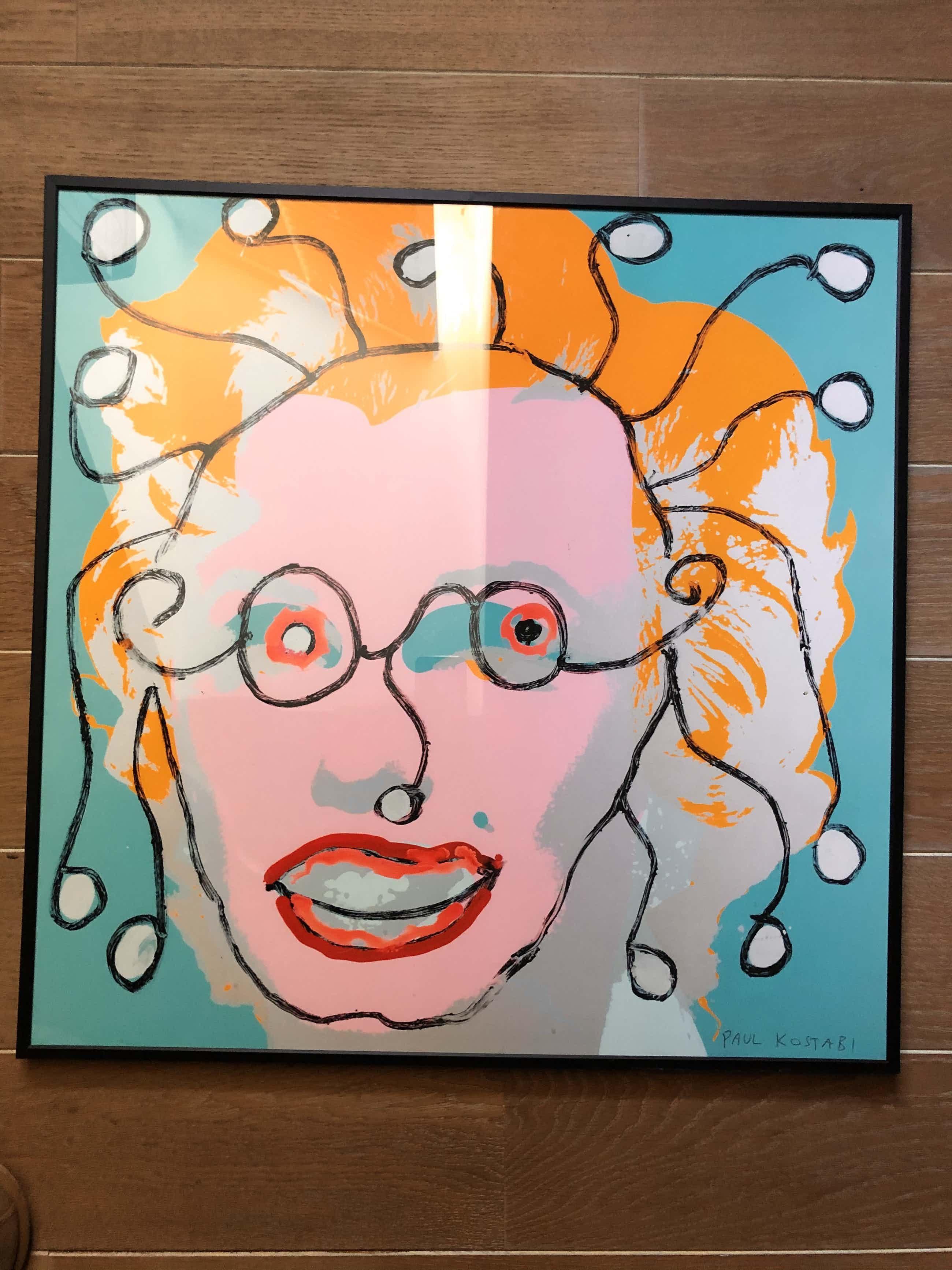 Paul Indrek Kostabi - L'hommage a Marilyn kopen? Bied vanaf 40!