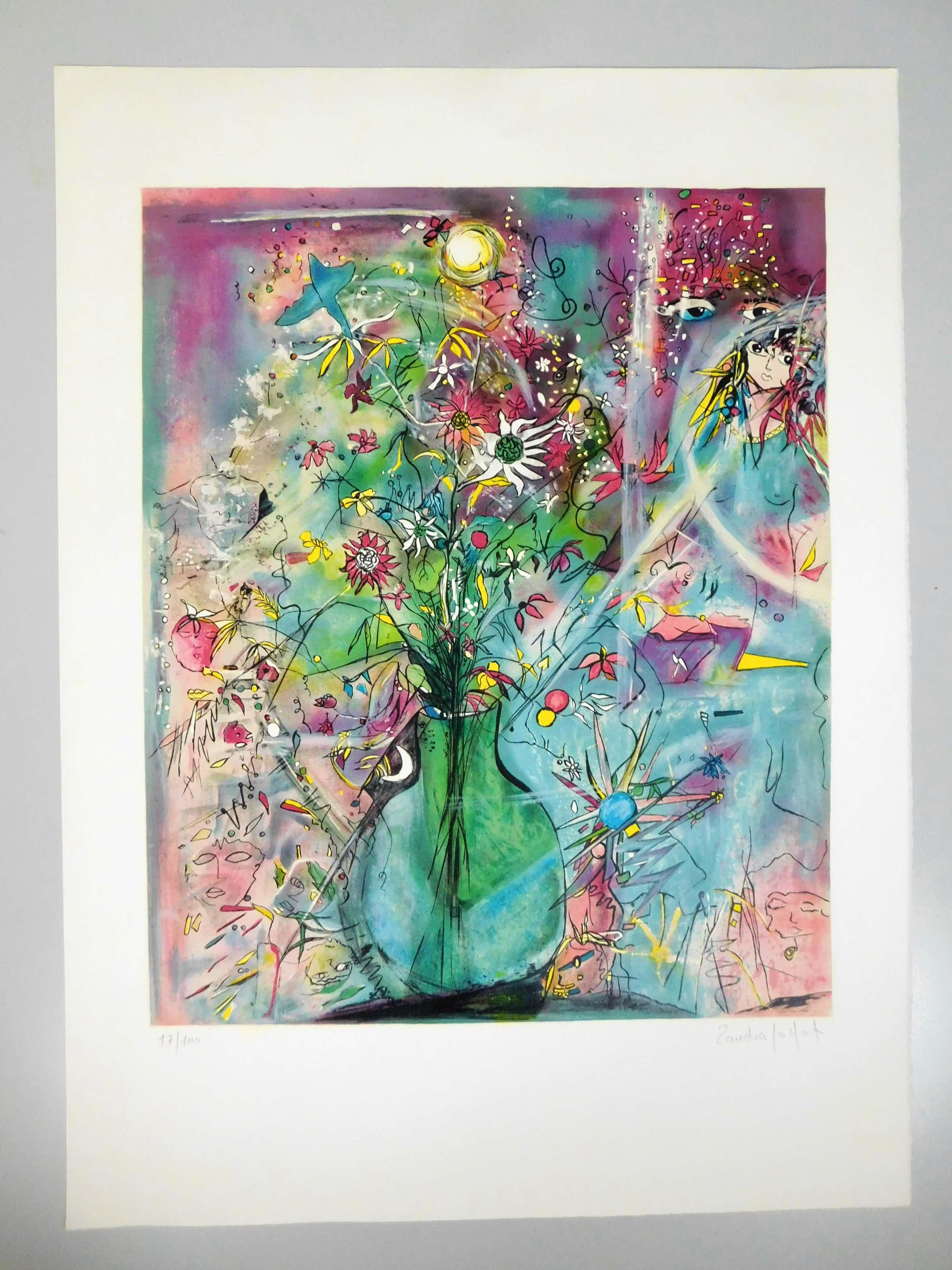 Sandra Jayat - Fleur aux mots bruyants kopen? Bied vanaf 25!