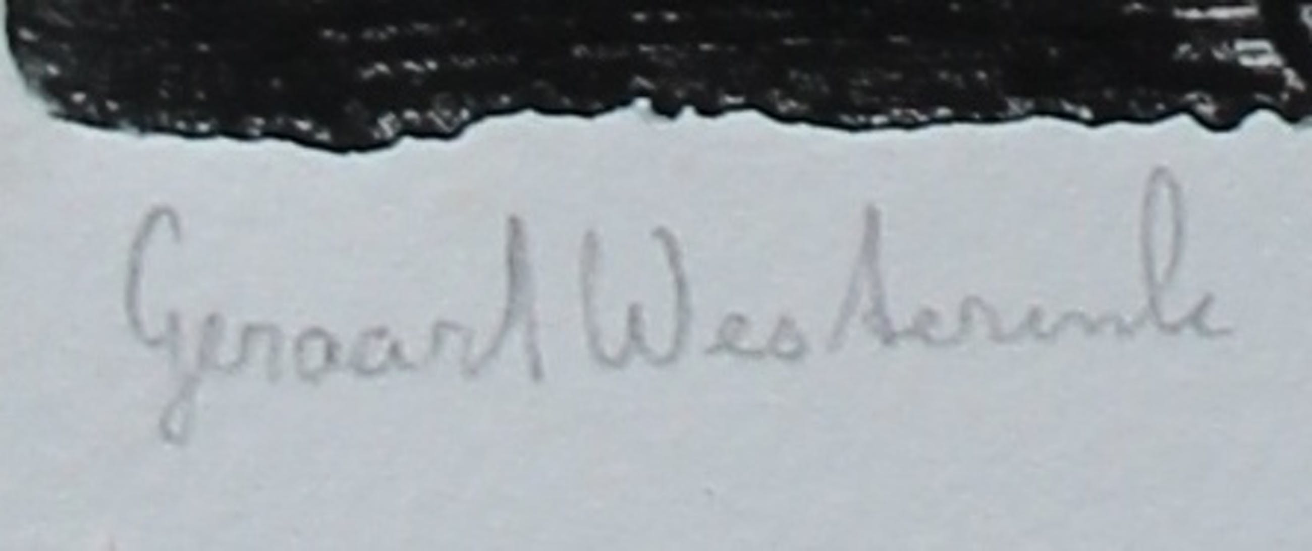 Geraart Westerink - Ets - kopen? Bied vanaf 35!