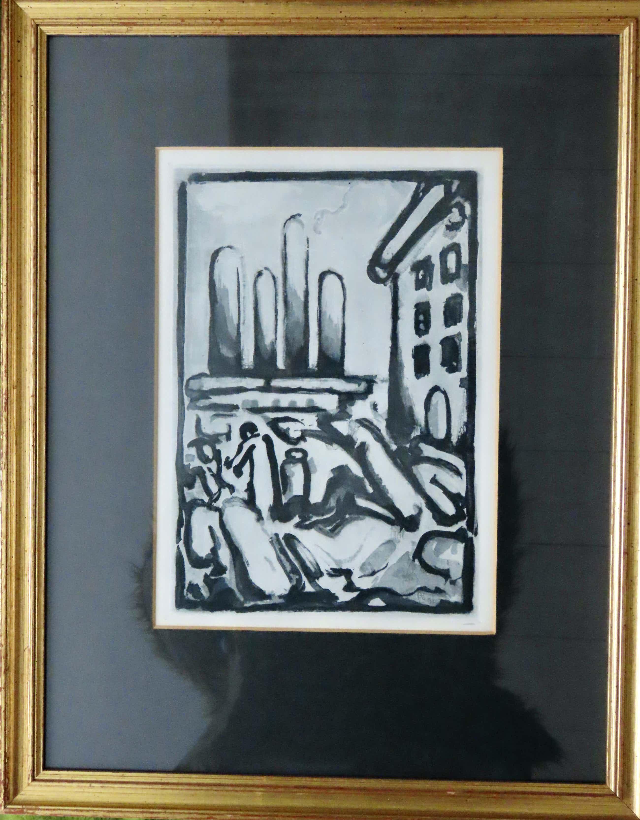 Georges Rouault - Christ au Faubourg kopen? Bied vanaf 175!
