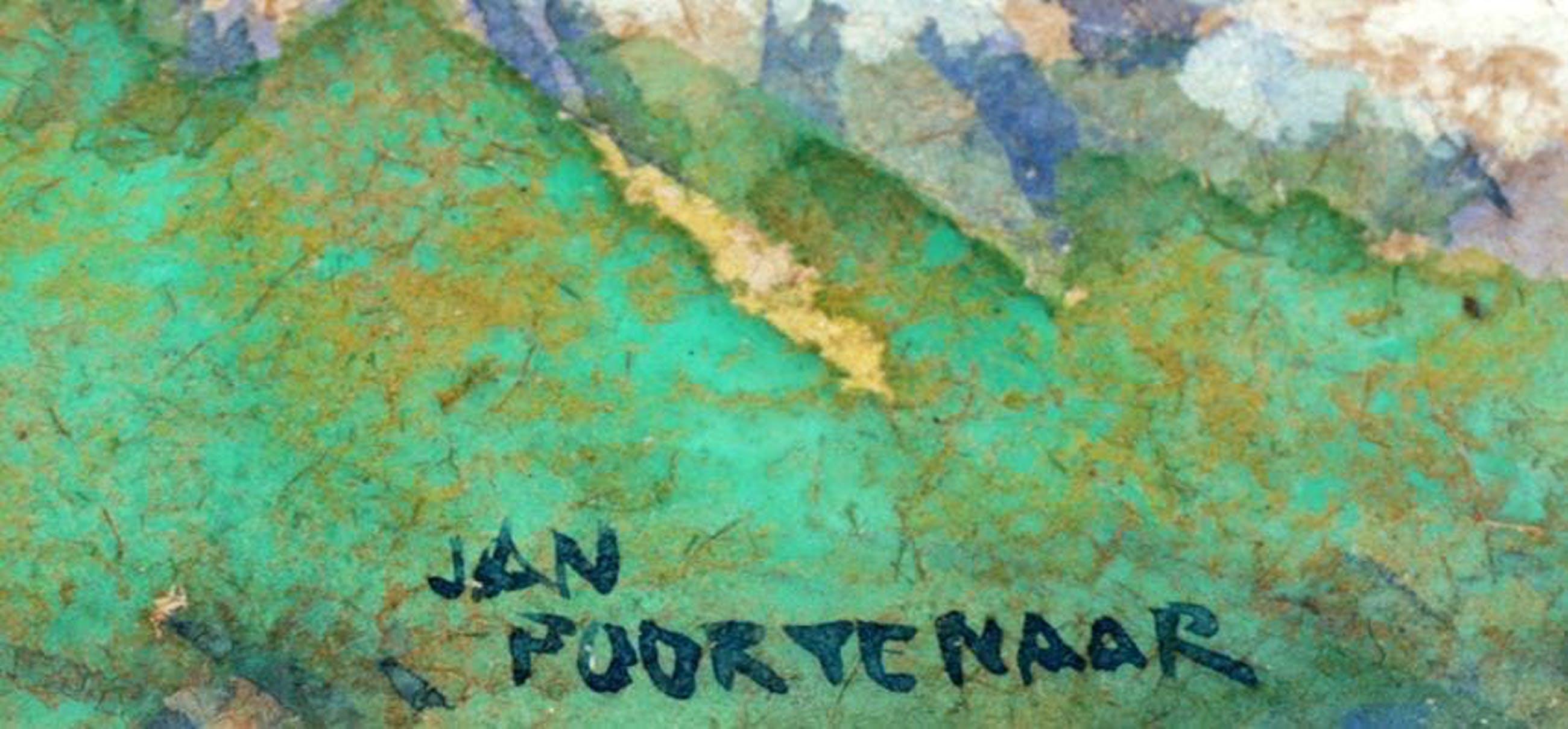 Jan Poortenaar - Hollands Landschap kopen? Bied vanaf 125!