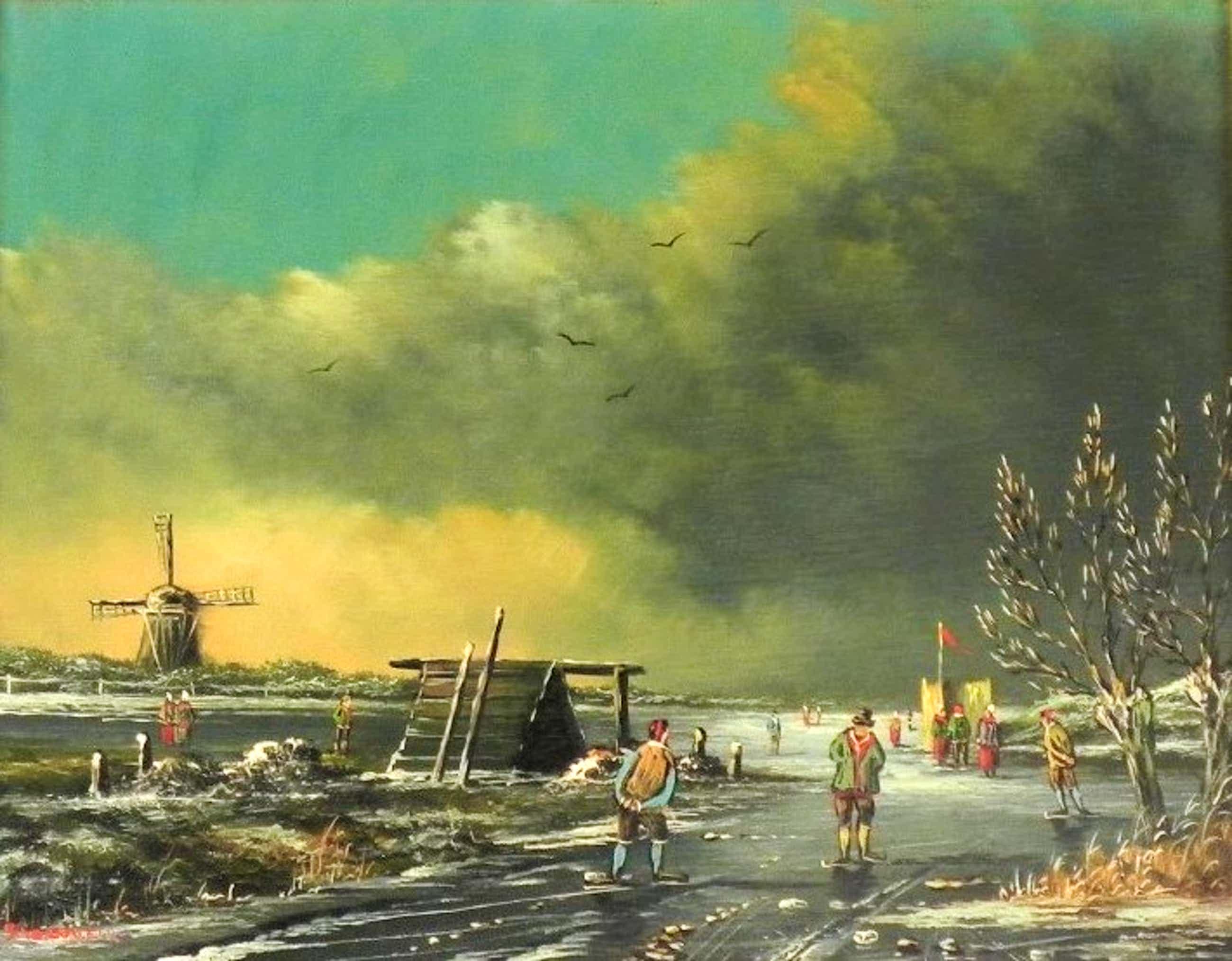 Hendrik Breedveld - Een winterlandschap kopen? Bied vanaf 60!