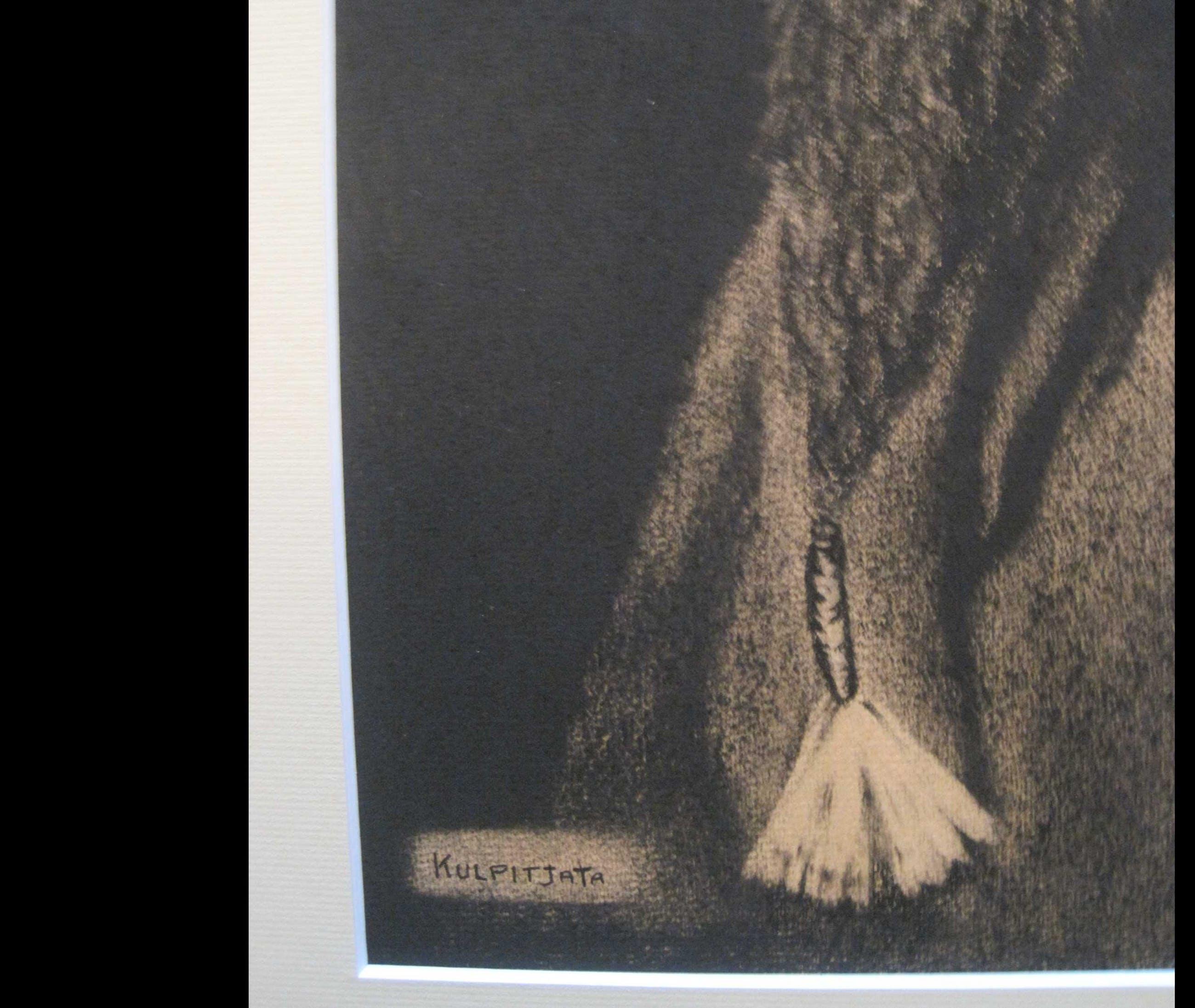 Niet of onleesbaar gesigneerd - Portret van een Aboriginal kopen? Bied vanaf 10!