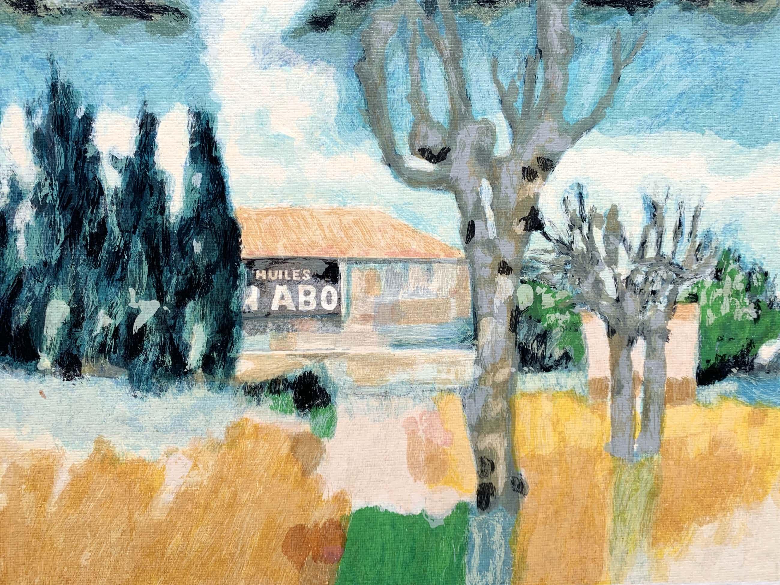 Willem Brauck - kleurenlitho - zonder titel kopen? Bied vanaf 40!