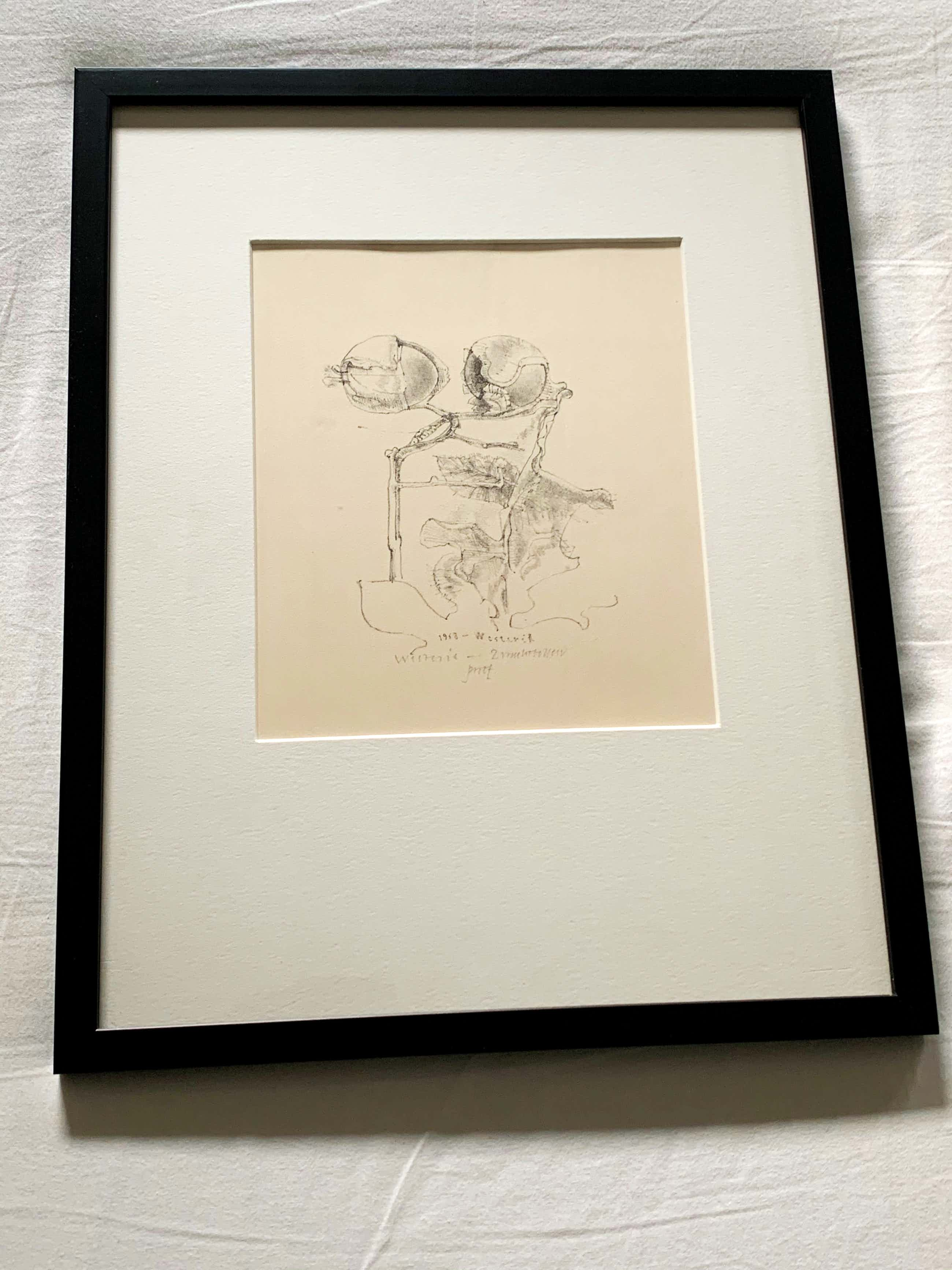 Co Westerik - Twee vruchtbollen 1968 proefdruk oplage 20 met handgeschreven gedicht kopen? Bied vanaf 165!
