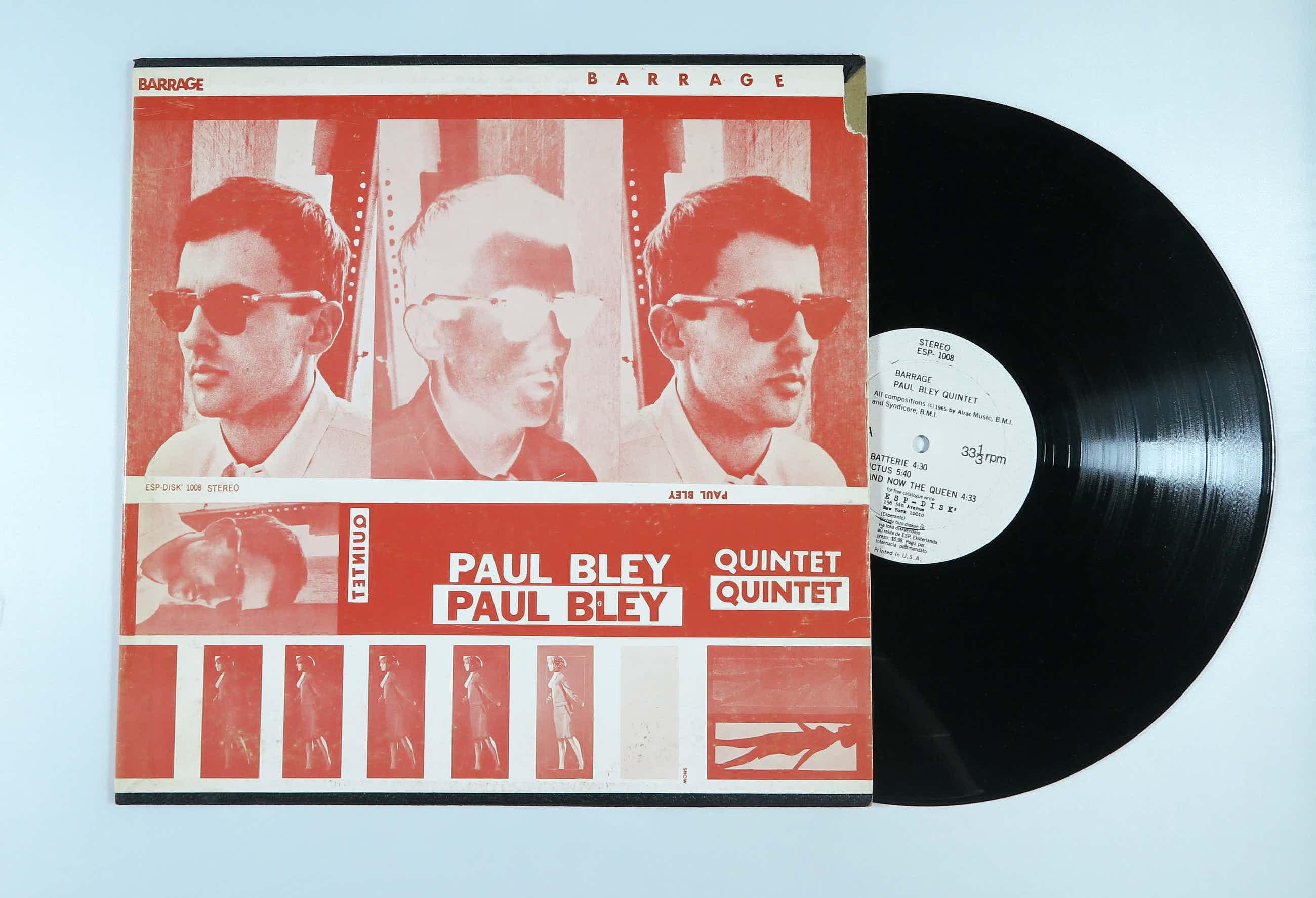 Paul Bley - Quintet – Barrage kopen? Bied vanaf 50!