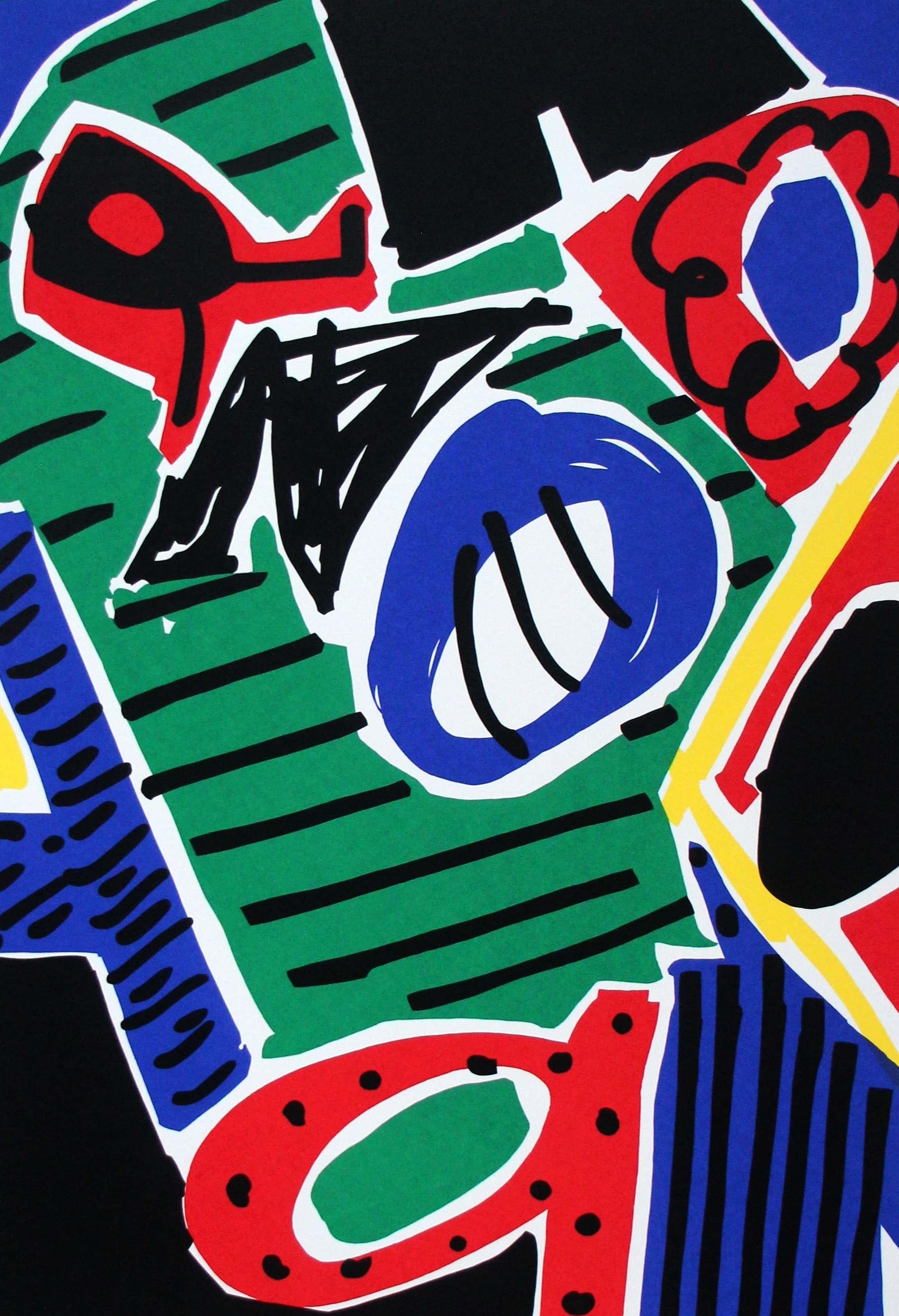 Yolande Brouwers - Zeefdruk: Anoq - gesigneerd - 1993 kopen? Bied vanaf 35!