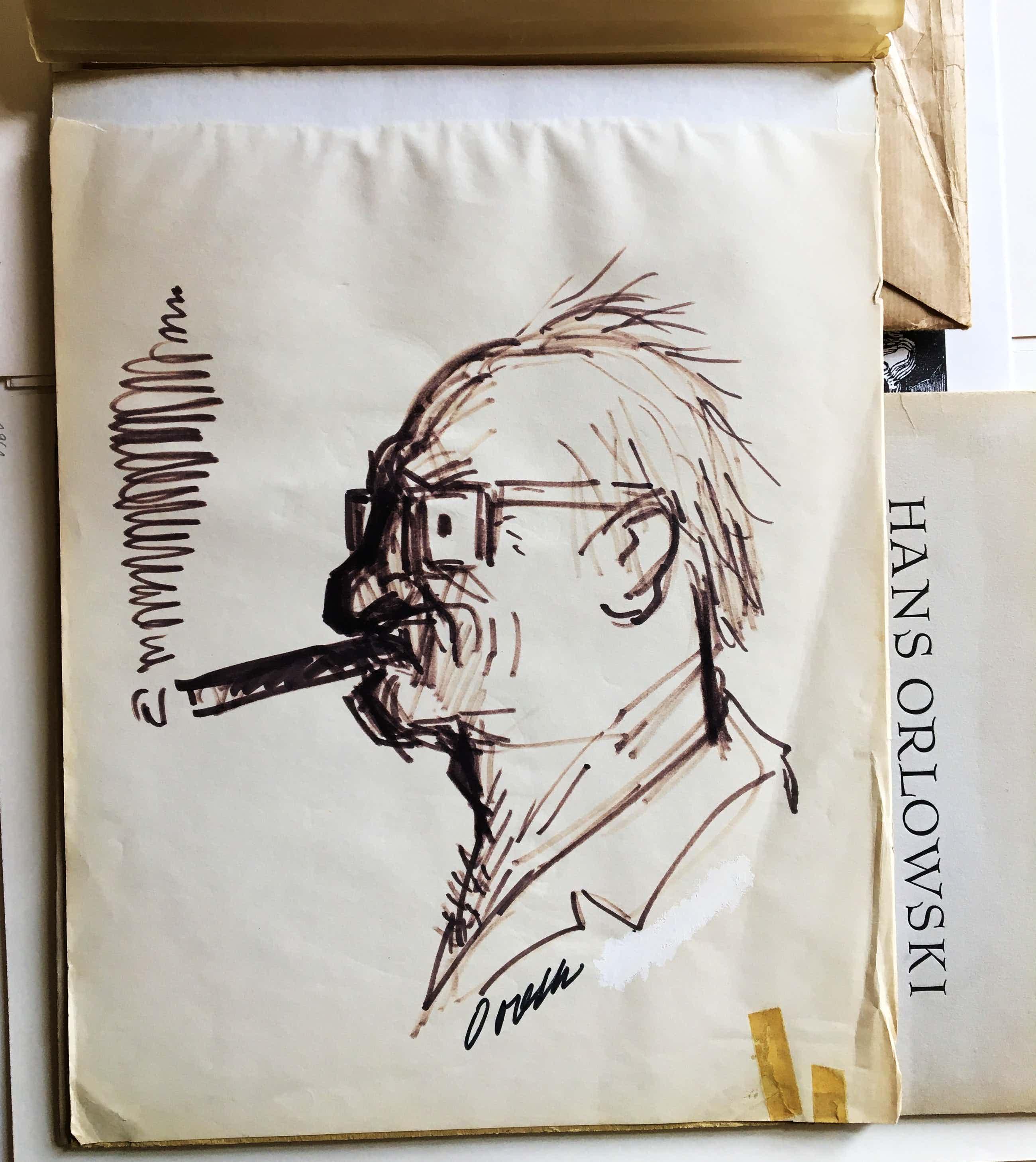 Hans Orlowski - Selbst Porträt kopen? Bied vanaf 85!