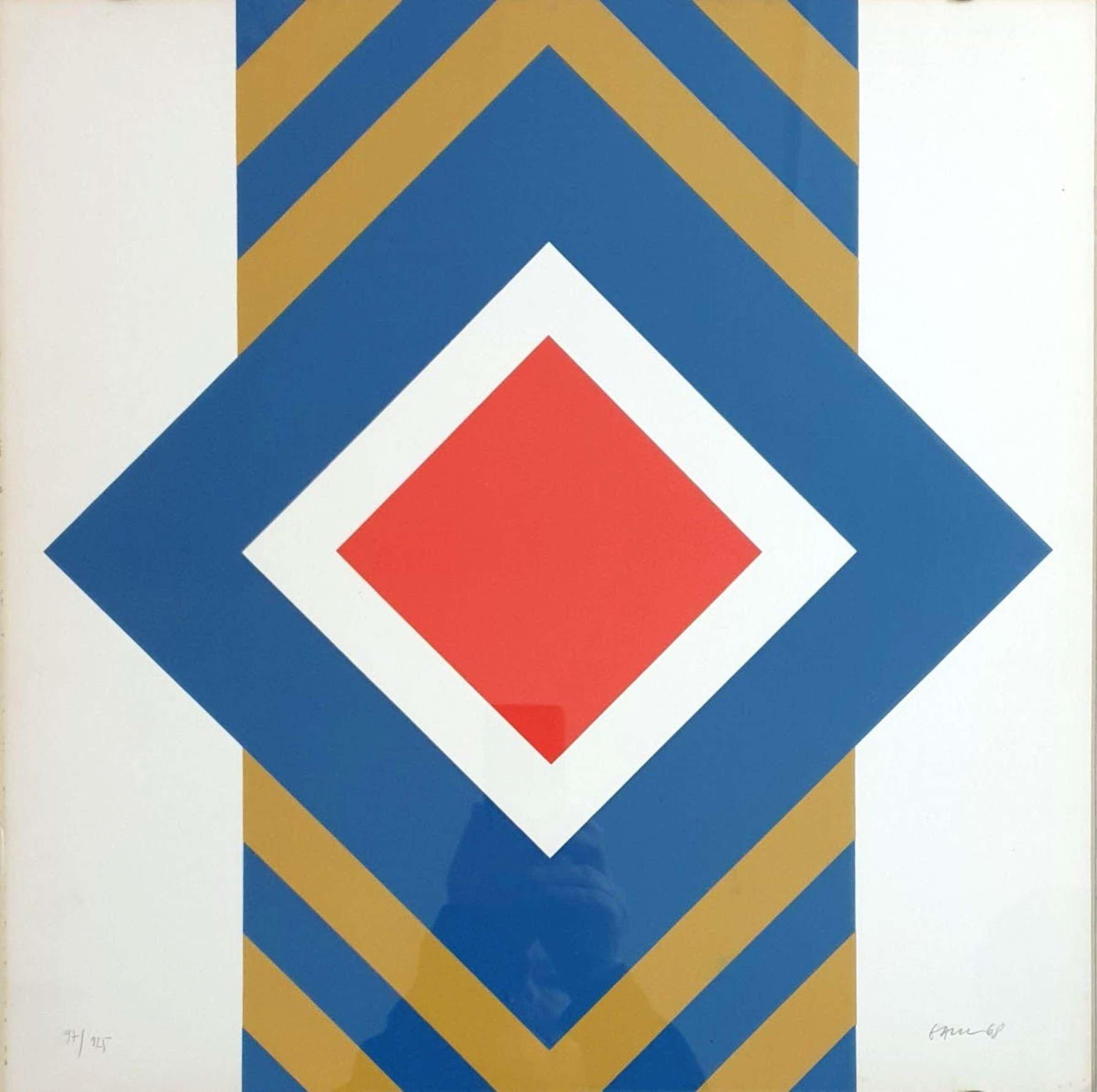 Winfred Gaul - Seriegrafie 1968 o.T. signiert numeriert Ed. 125 kopen? Bied vanaf 240!