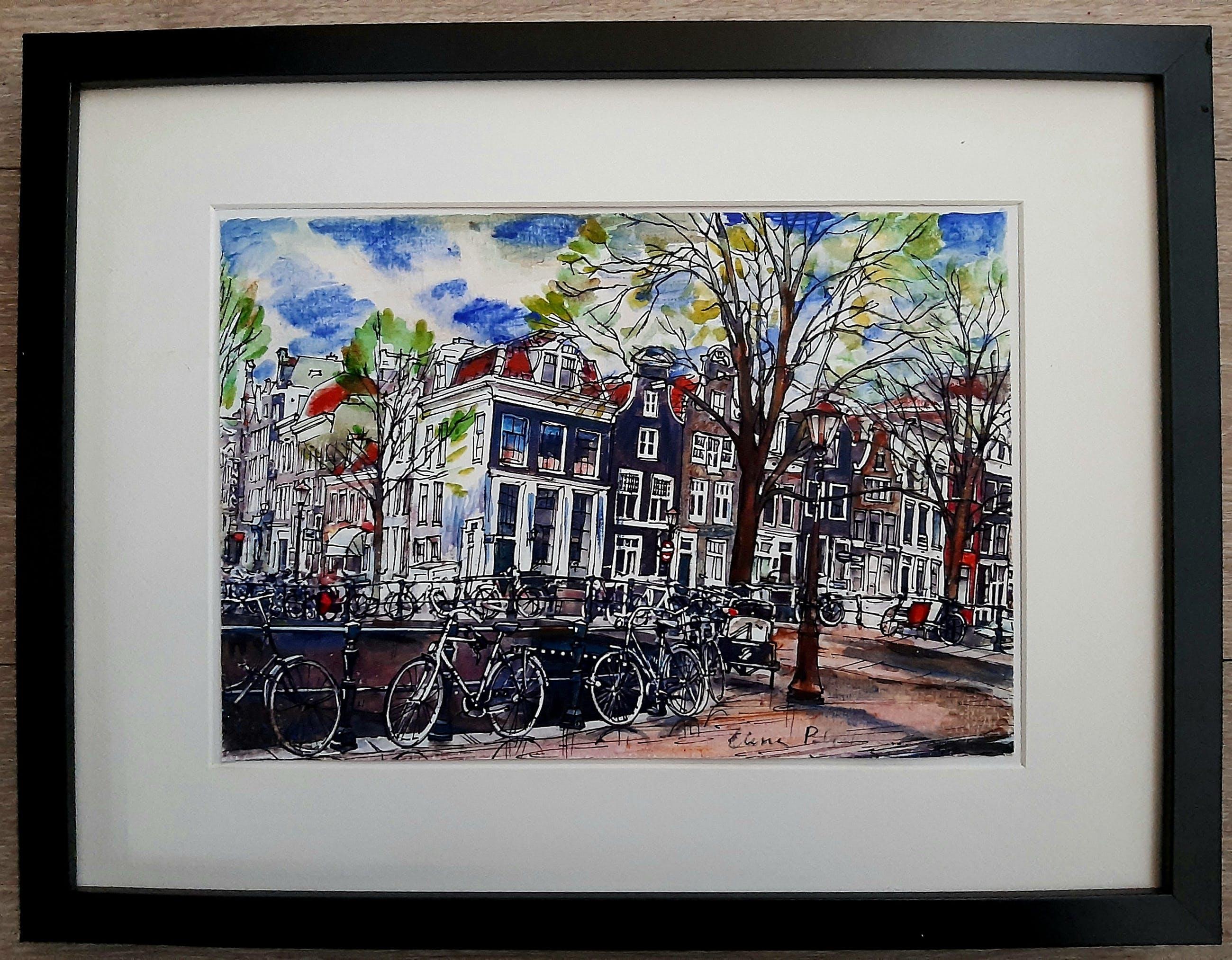 Elena Polyakova - Nieuwe spiegel gracht in Amsterdam kopen? Bied vanaf 45!