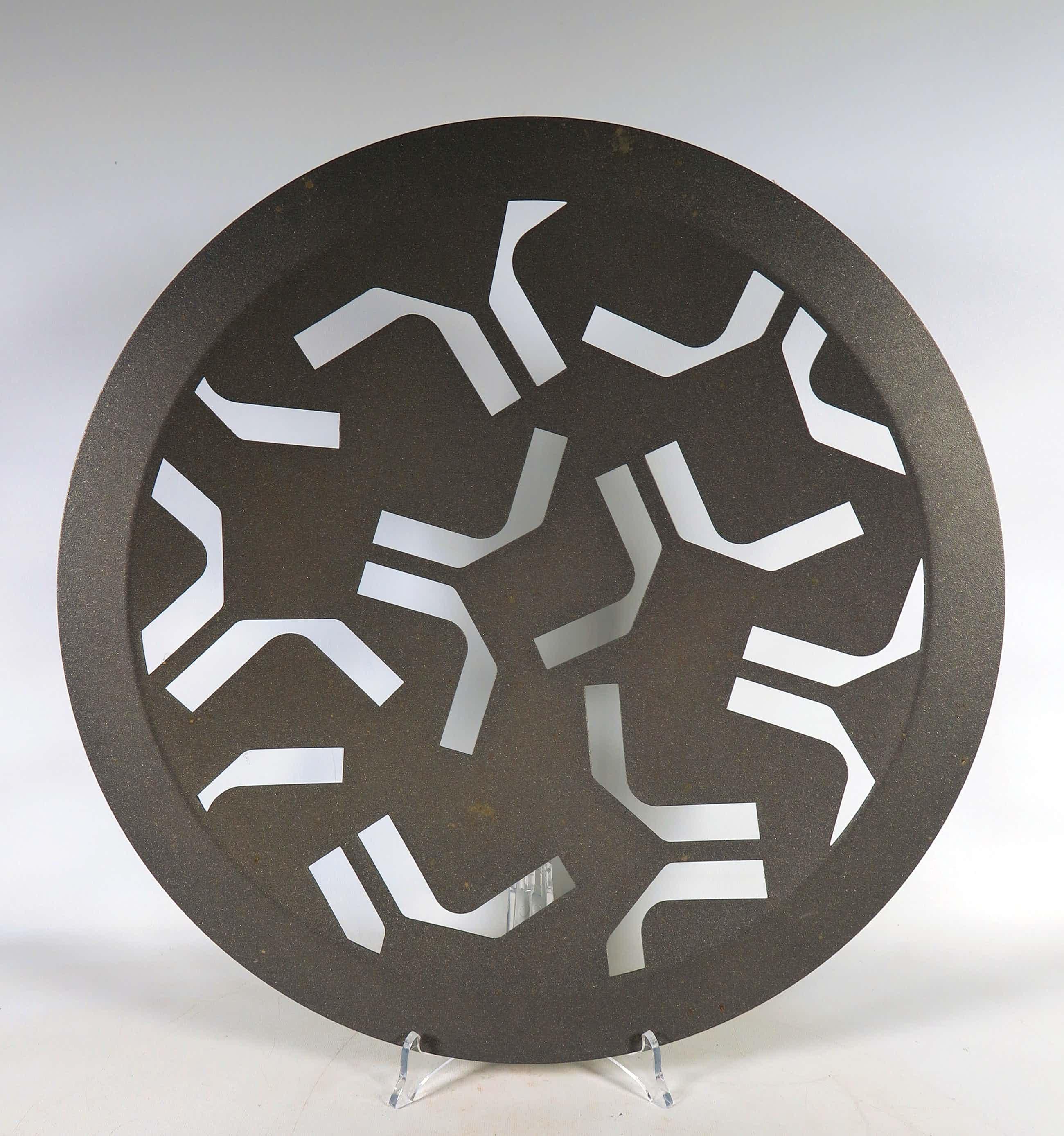 Niet of onleesbaar gesigneerd - Randstad Design, Fruitschaal van gegalvaniseerd aluminium kopen? Bied vanaf 5!