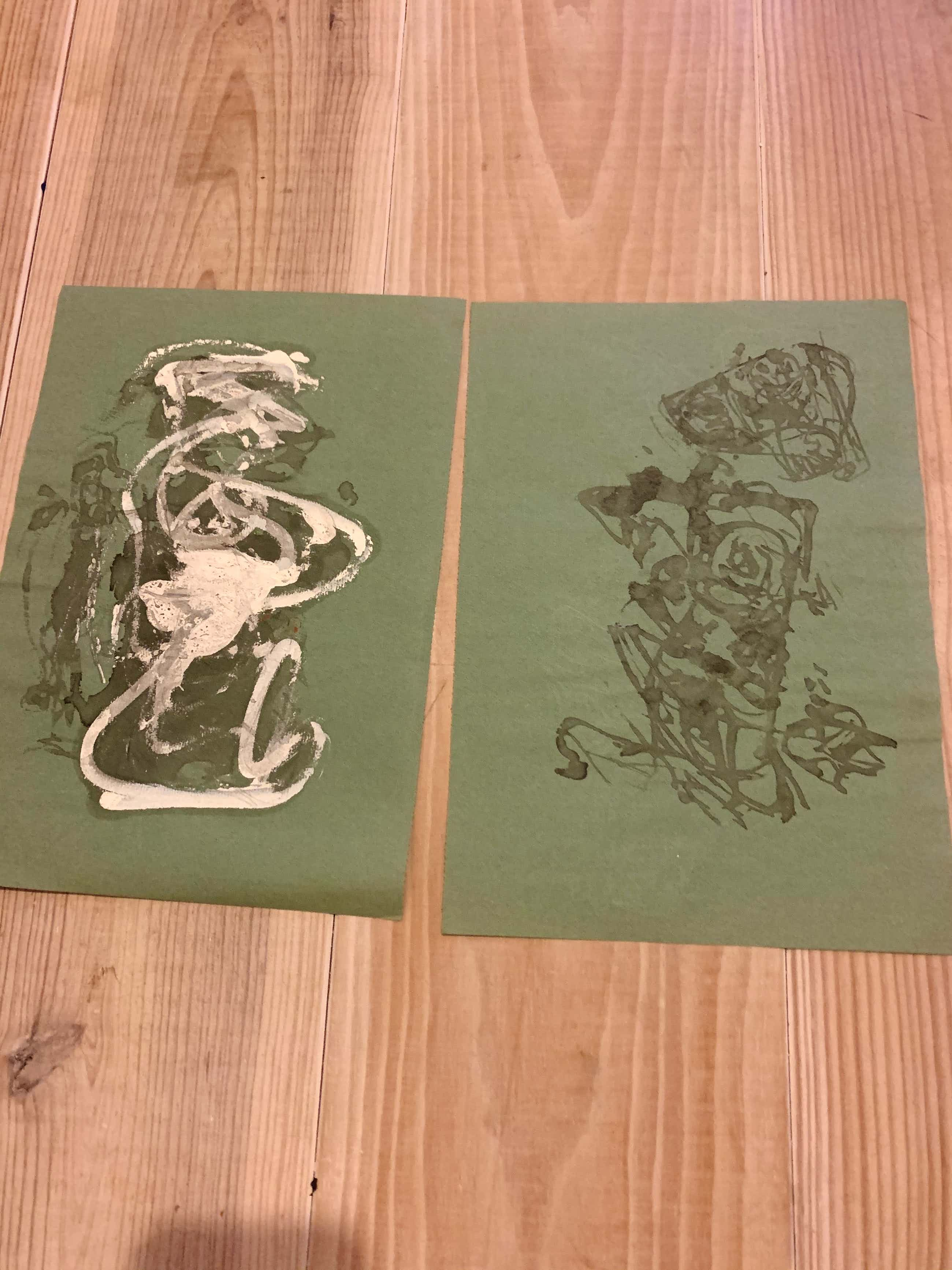 Theo Wolvecamp - twee originele tekeningen kopen? Bied vanaf 100!