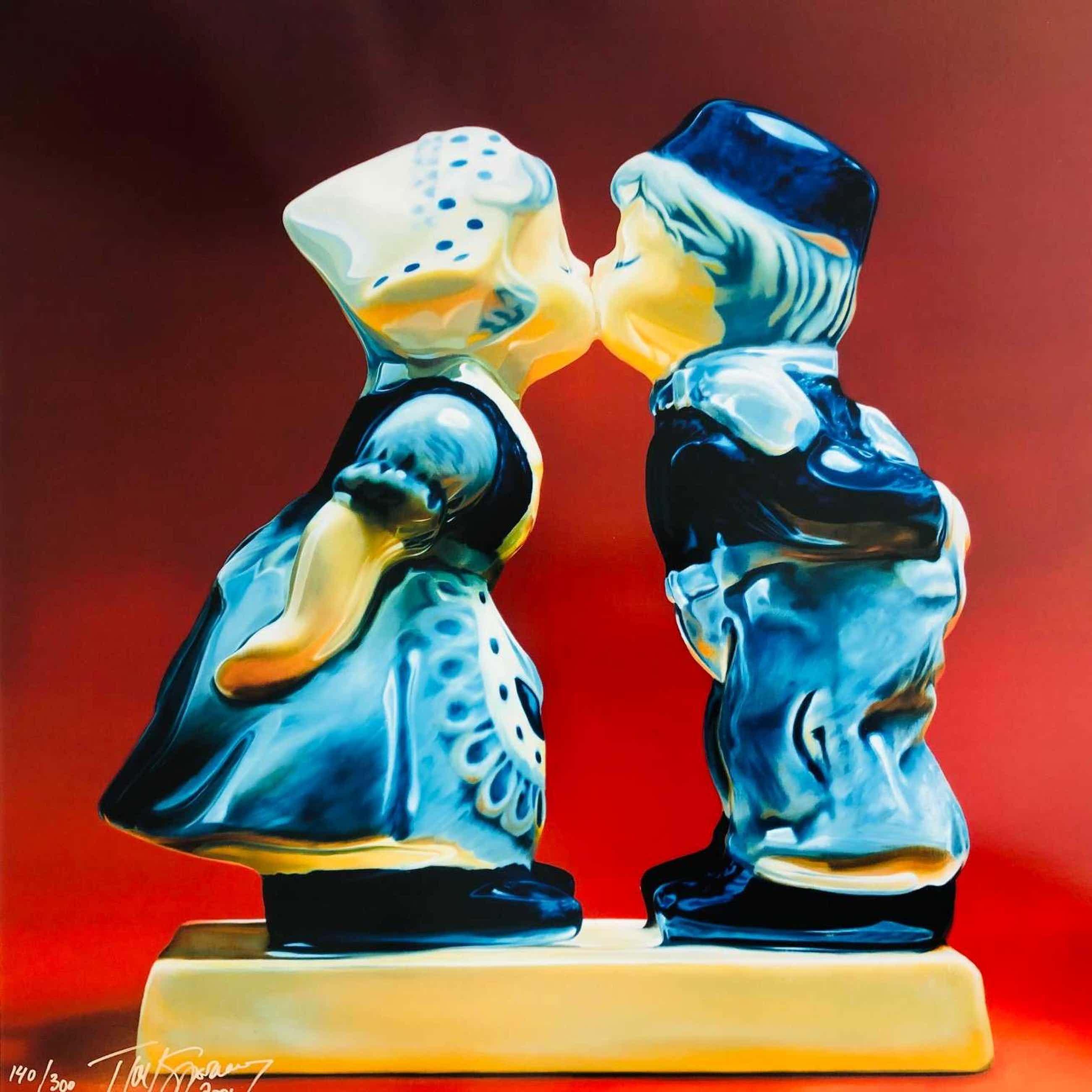 Tjalf Sparnaay - De kus kopen? Bied vanaf 450!