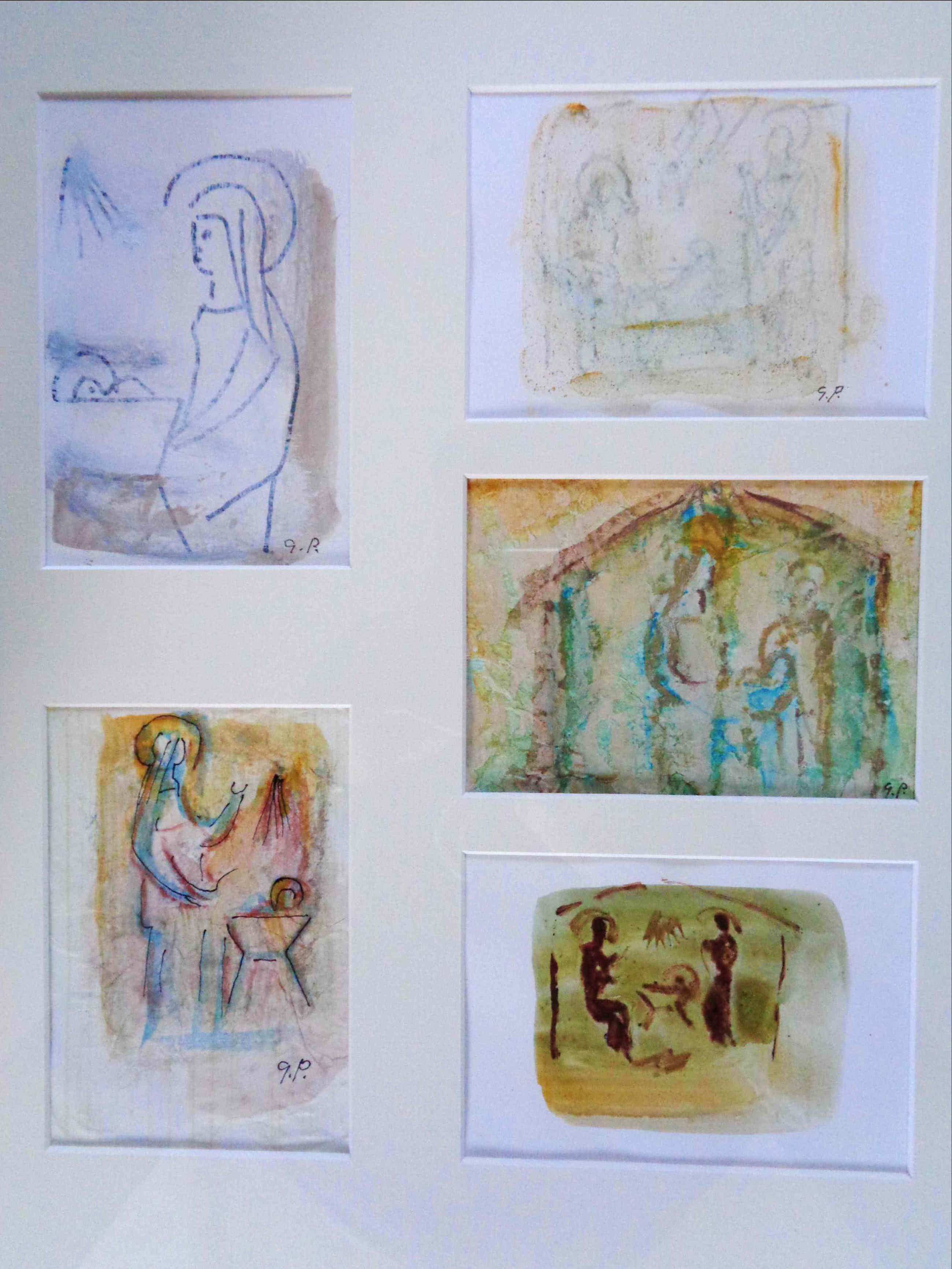 Gerard Princee - Geboorte van Jezus Christus , kerstkaart (5x) kopen? Bied vanaf 120!