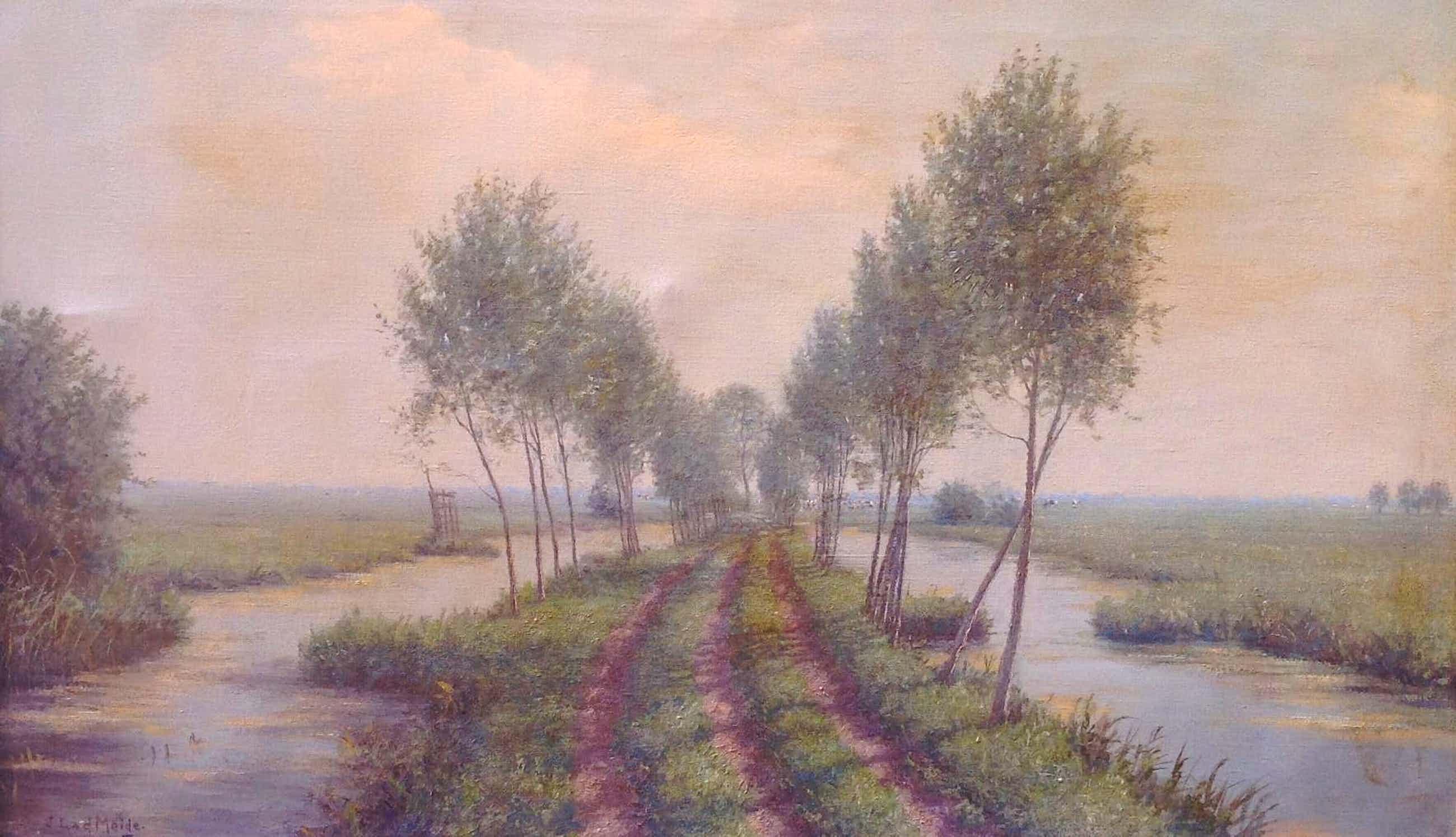 Jacobus Leonardus van der Meide - C1512, Zicht op de Krimpenerwaard richting Berkenwoude kopen? Bied vanaf 300!