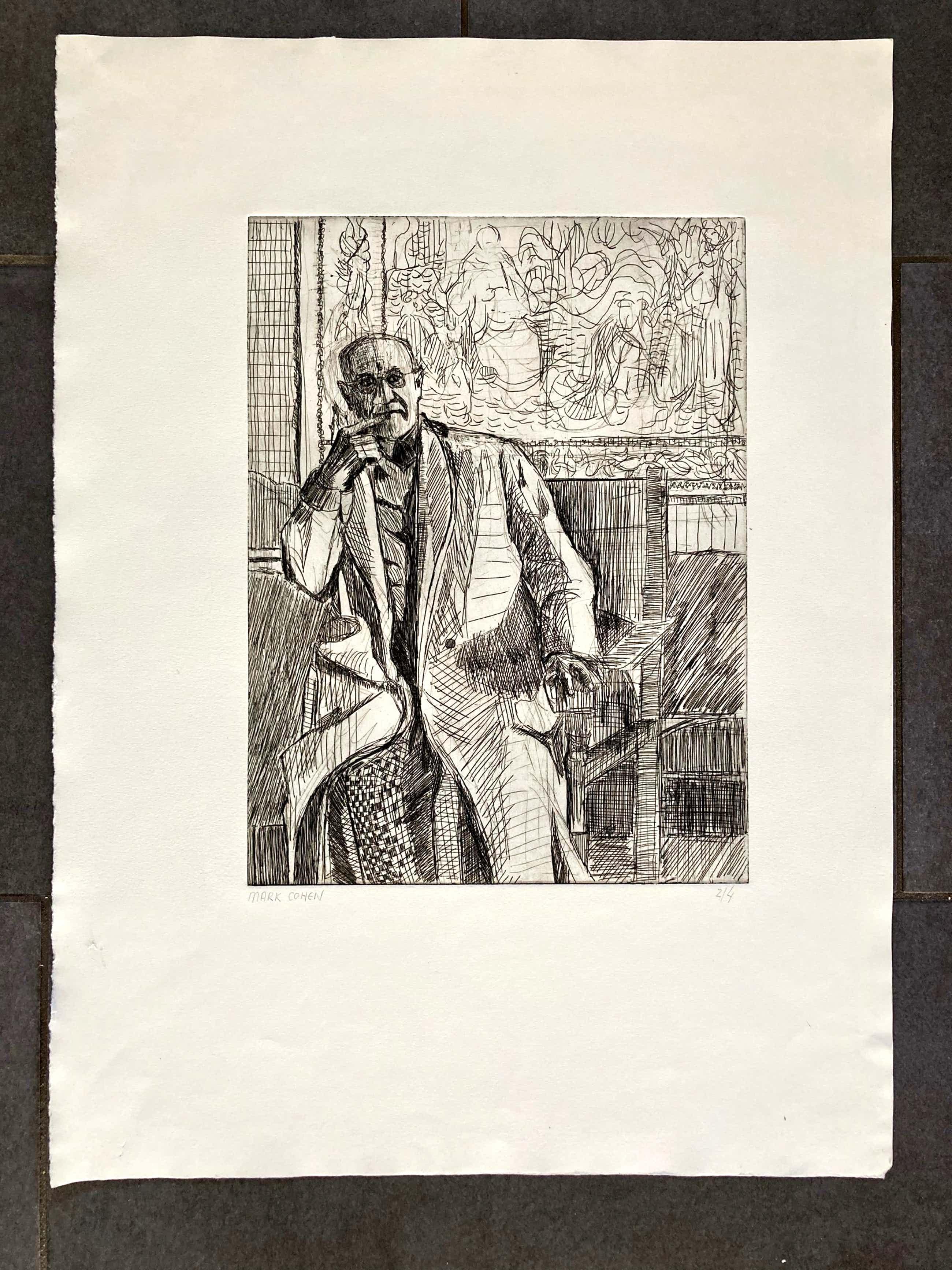 Mark Cohen - Henri Matisse Seated (4 van 4) kopen? Bied vanaf 25!