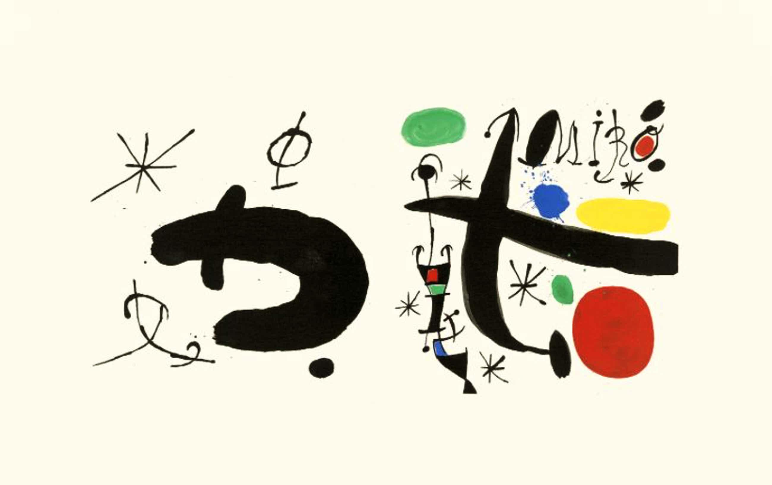 Joan Miro - Les esséncies de la terra kopen? Bied vanaf 500!