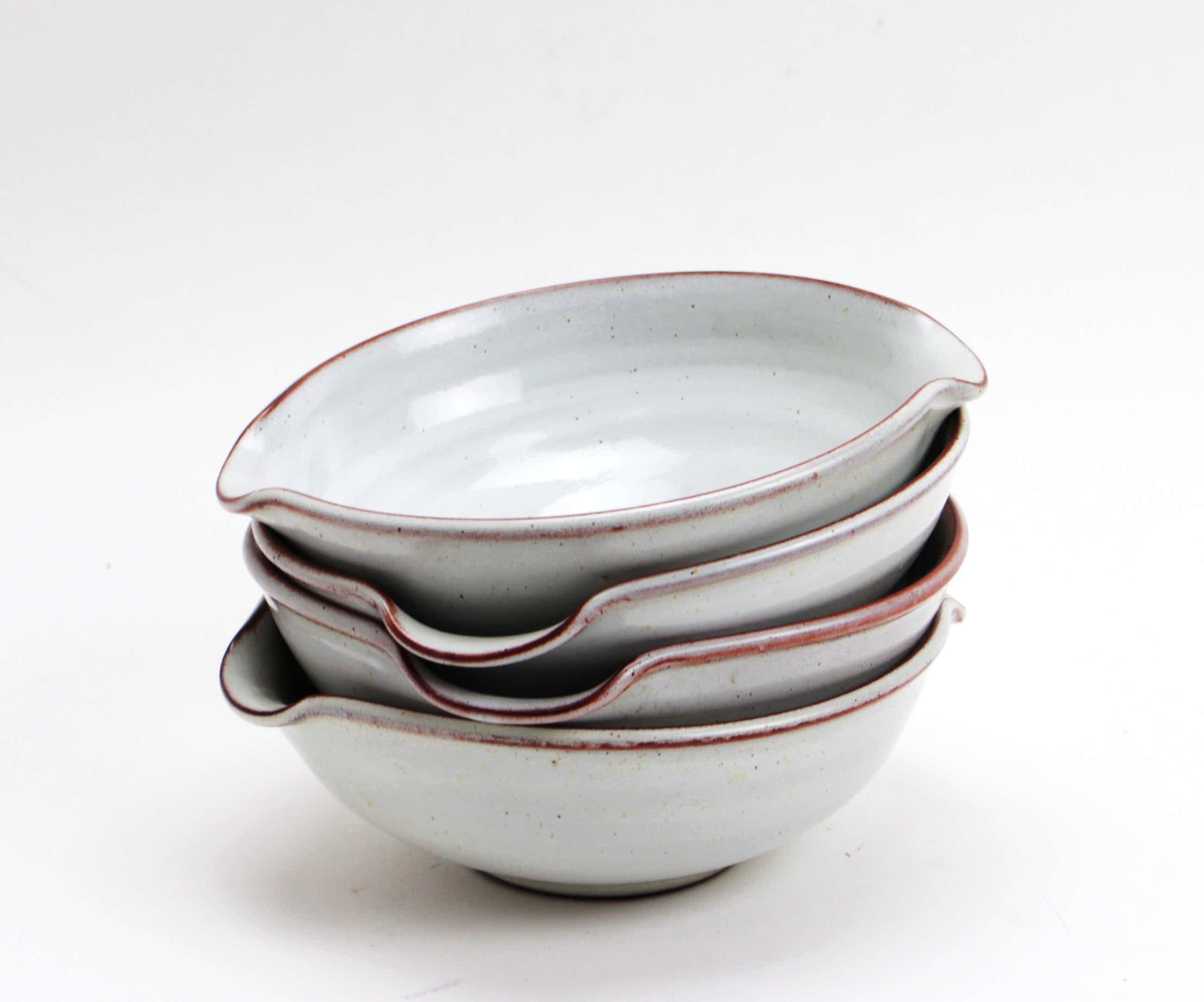 Potterij Zaalberg - 4 aardewerk kommen kopen? Bied vanaf 20!