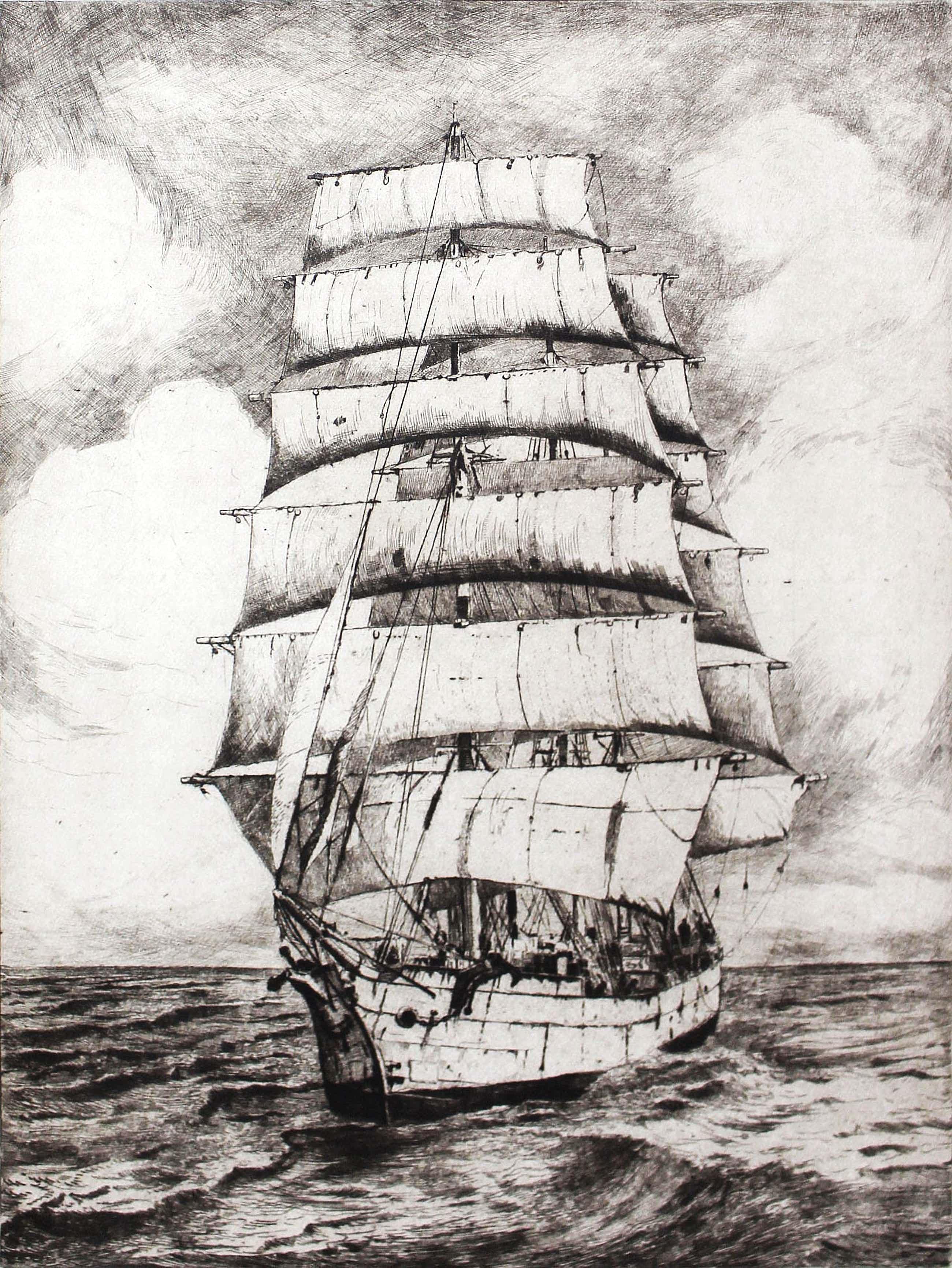 Jan Sirks - Bark op volle Zee kopen? Bied vanaf 40!