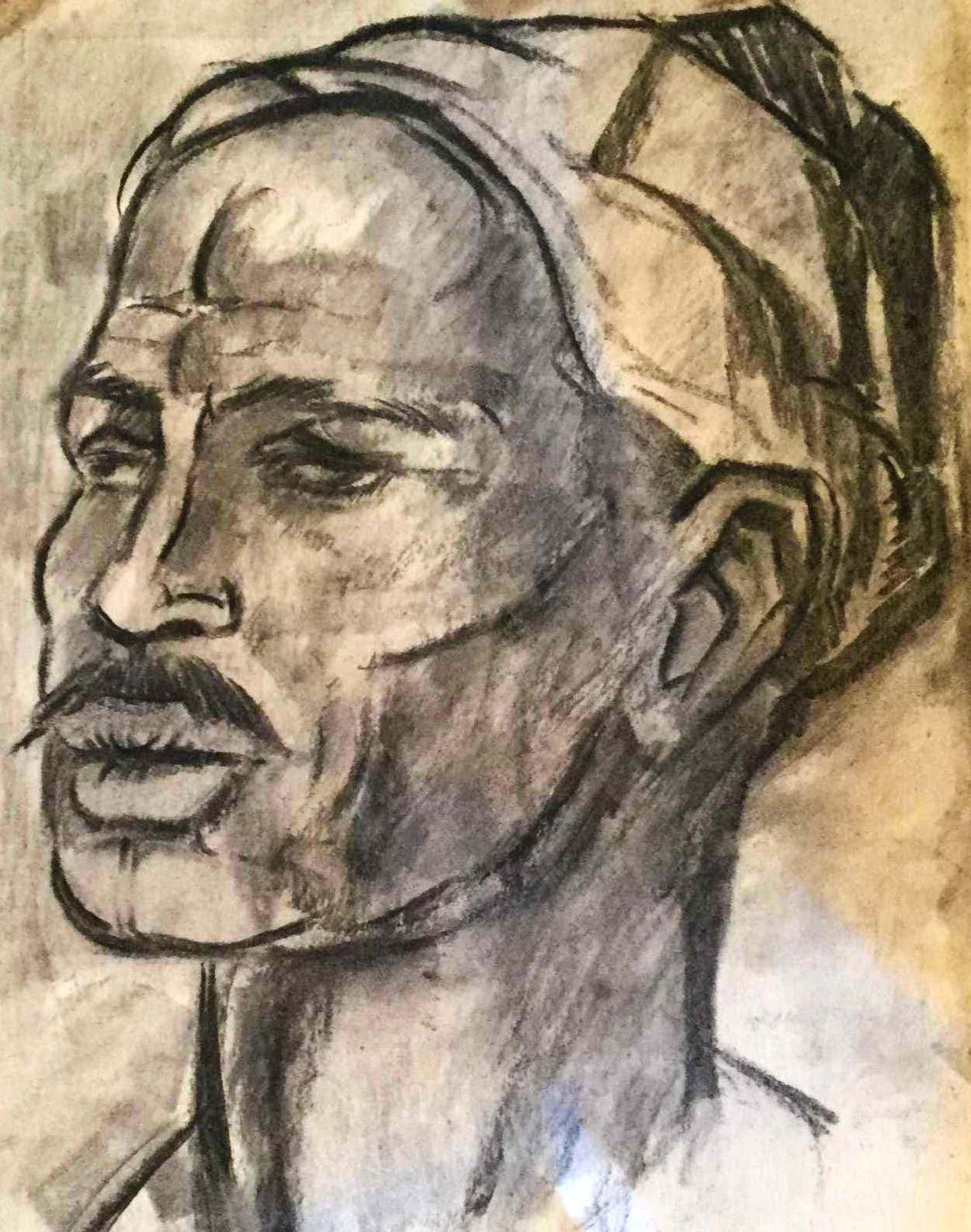 Gerard Huijsser - C4992-66, Portret van een man kopen? Bied vanaf 75!
