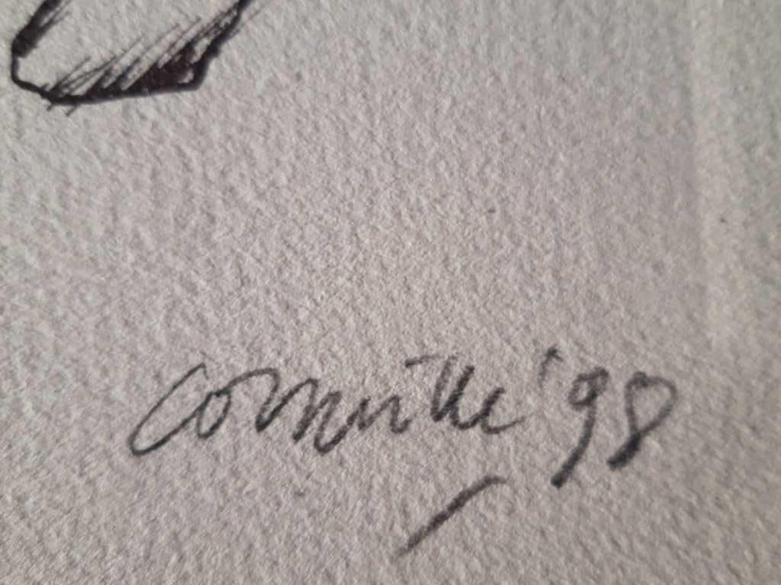 Corneille - litho, handgesigneerd en ingelijst, oplage 99 stuks kopen? Bied vanaf 90!