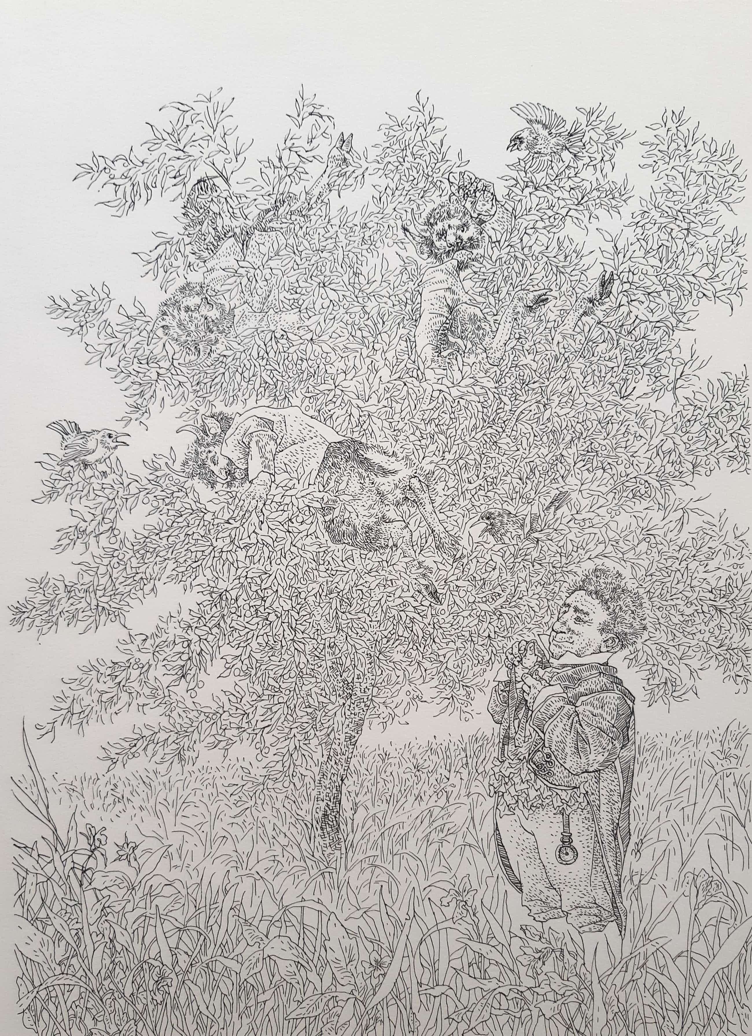 Peter Vos - Duivels in de boom gevangen kopen? Bied vanaf 120!