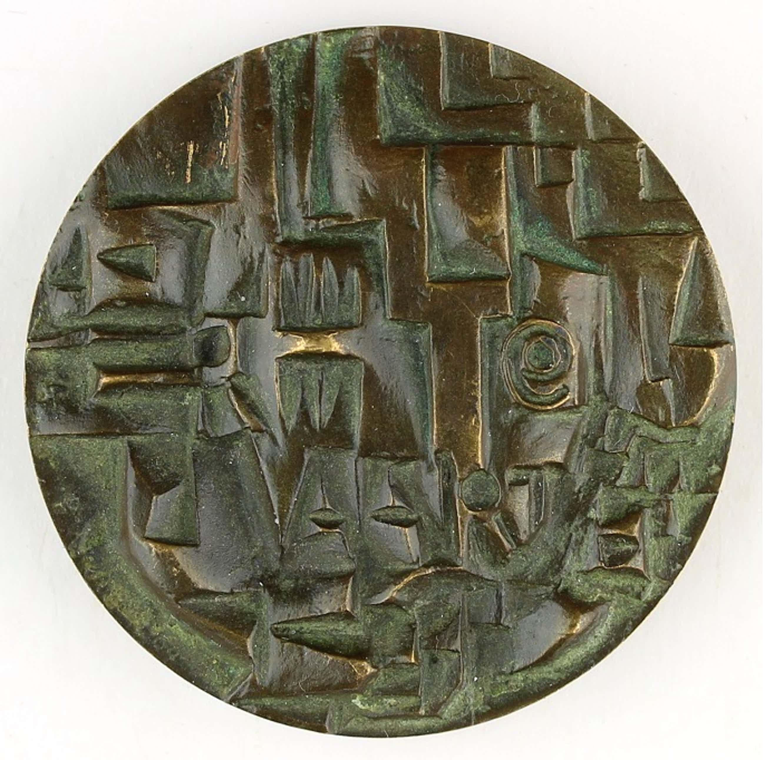 Jan Snoeck - Bronzen penning: Ruimtevaart, 1964 kopen? Bied vanaf 60!