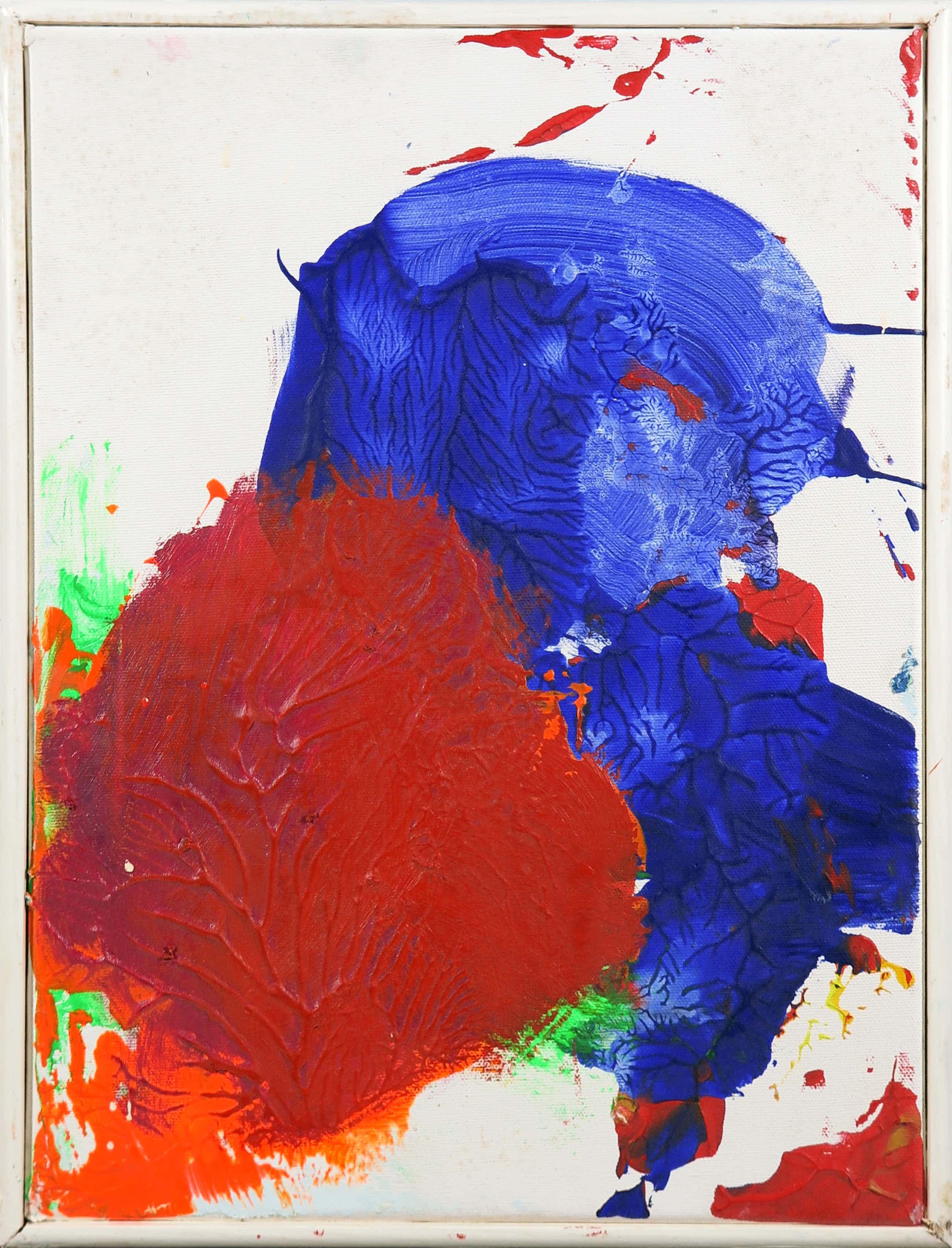 Arlaque de Clerque - Olieverf op doek, Z.T. Abstracte compositie kopen? Bied vanaf 60!