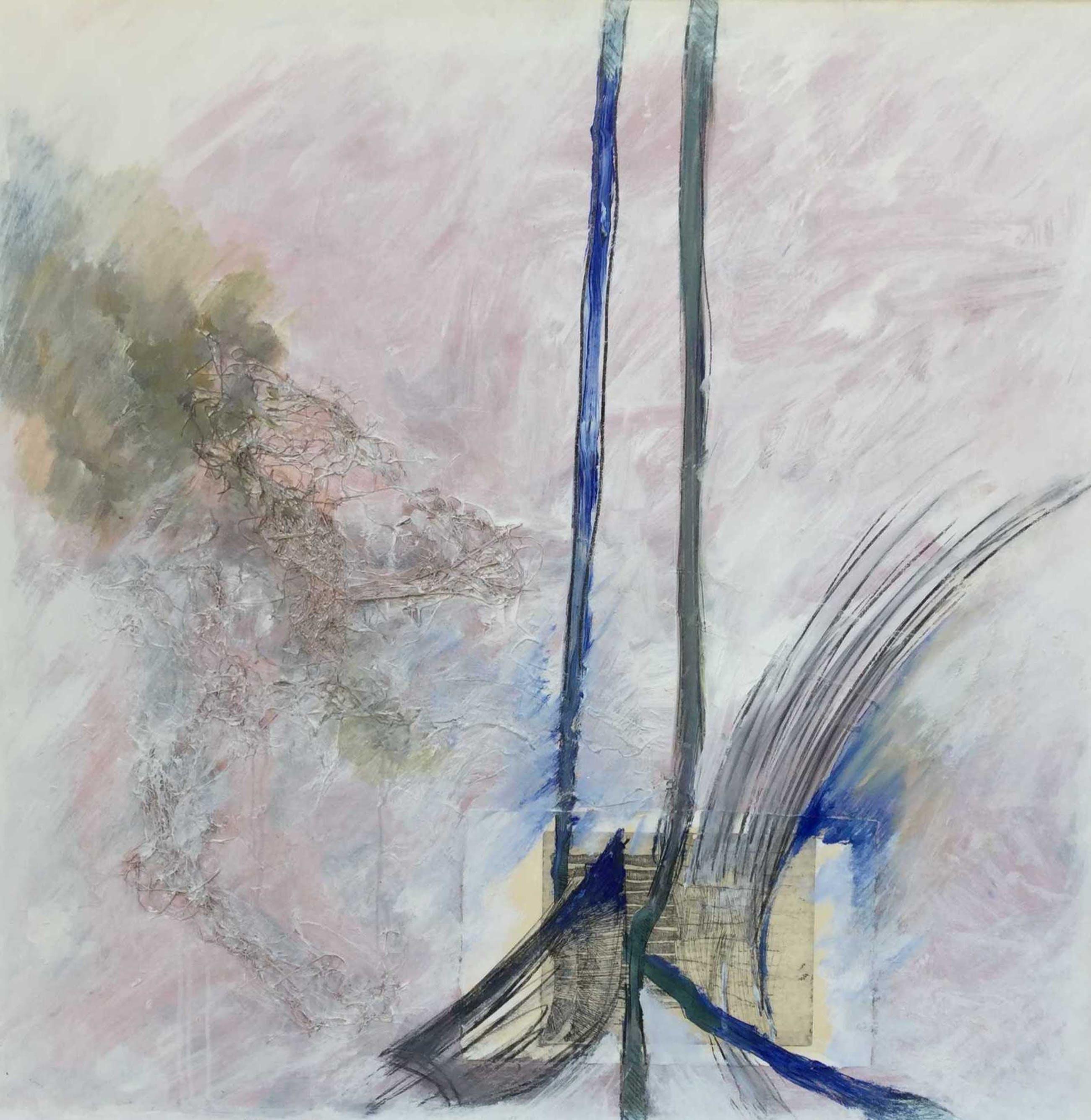 Ton van den Hoogen - C2479, Abstracte voorstelling kopen? Bied vanaf 300!