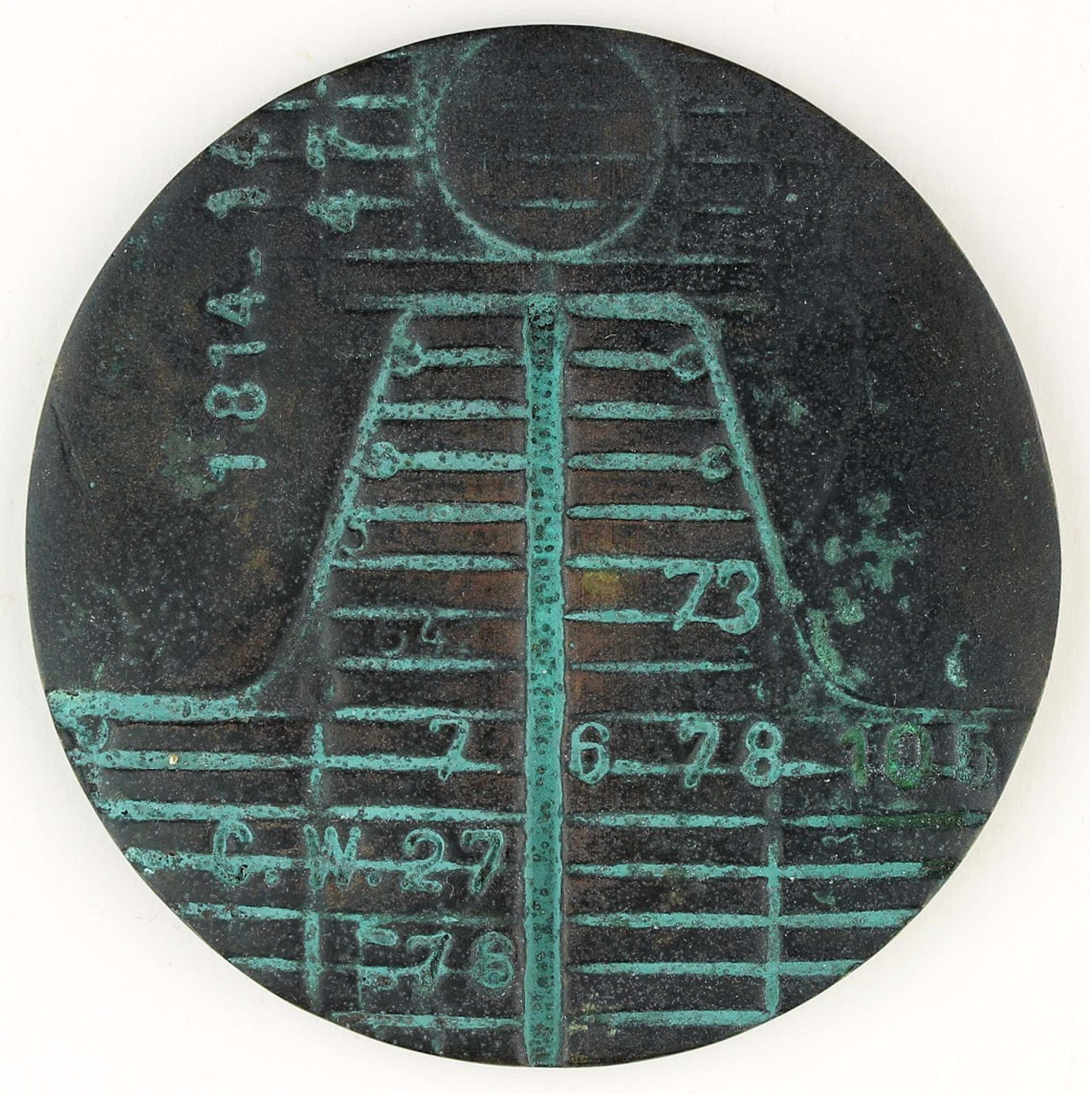 Eric Claus - Bronzen penning: 175 jarig bestaan Algemene Rekenkamer, 1989 kopen? Bied vanaf 75!