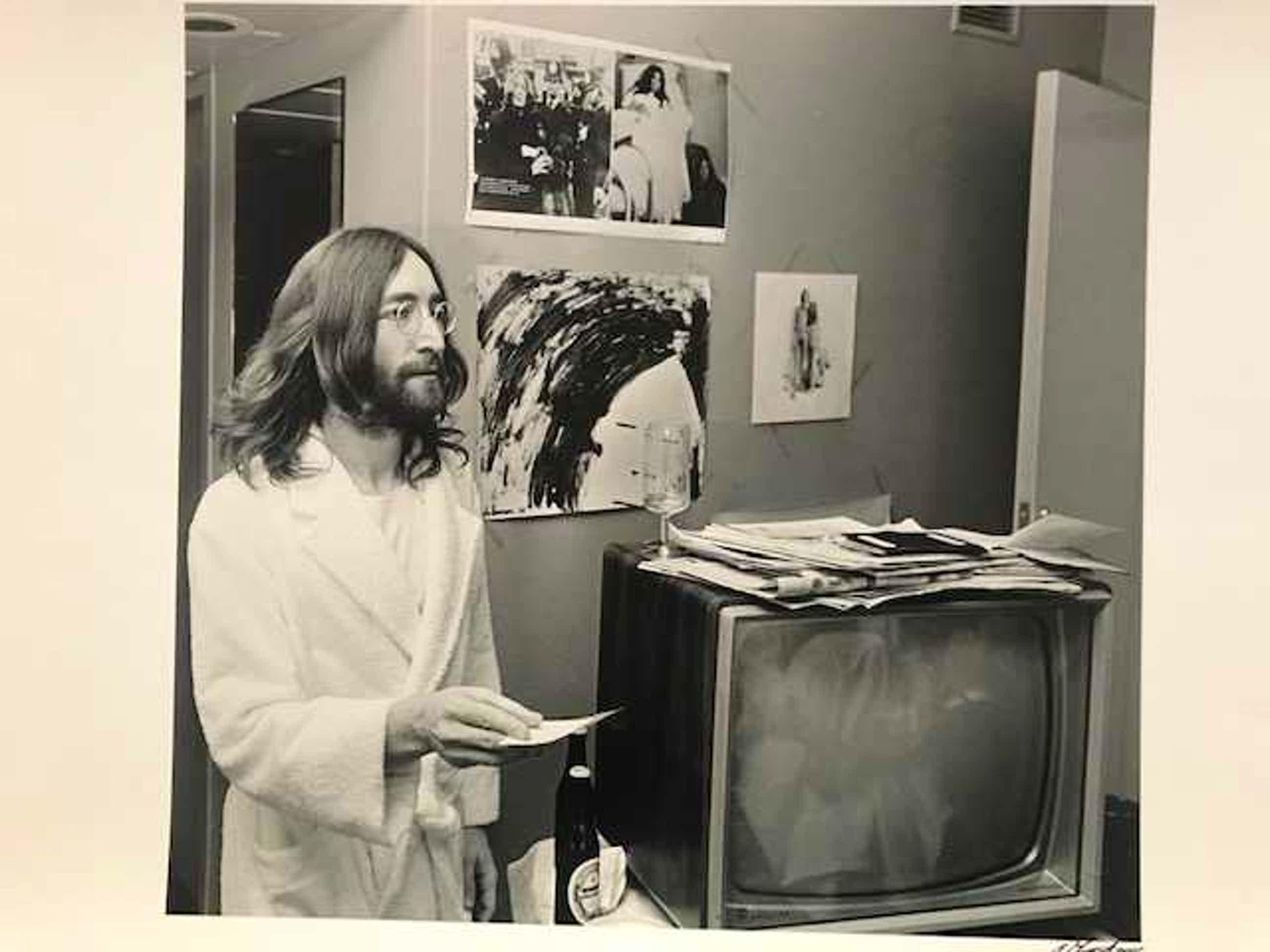 Nico Koster - John Lennon Yoko Ono Hilton Amsterdam 1969 kopen? Bied vanaf 100!